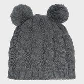 Kids' Pom Pom Ear Hat