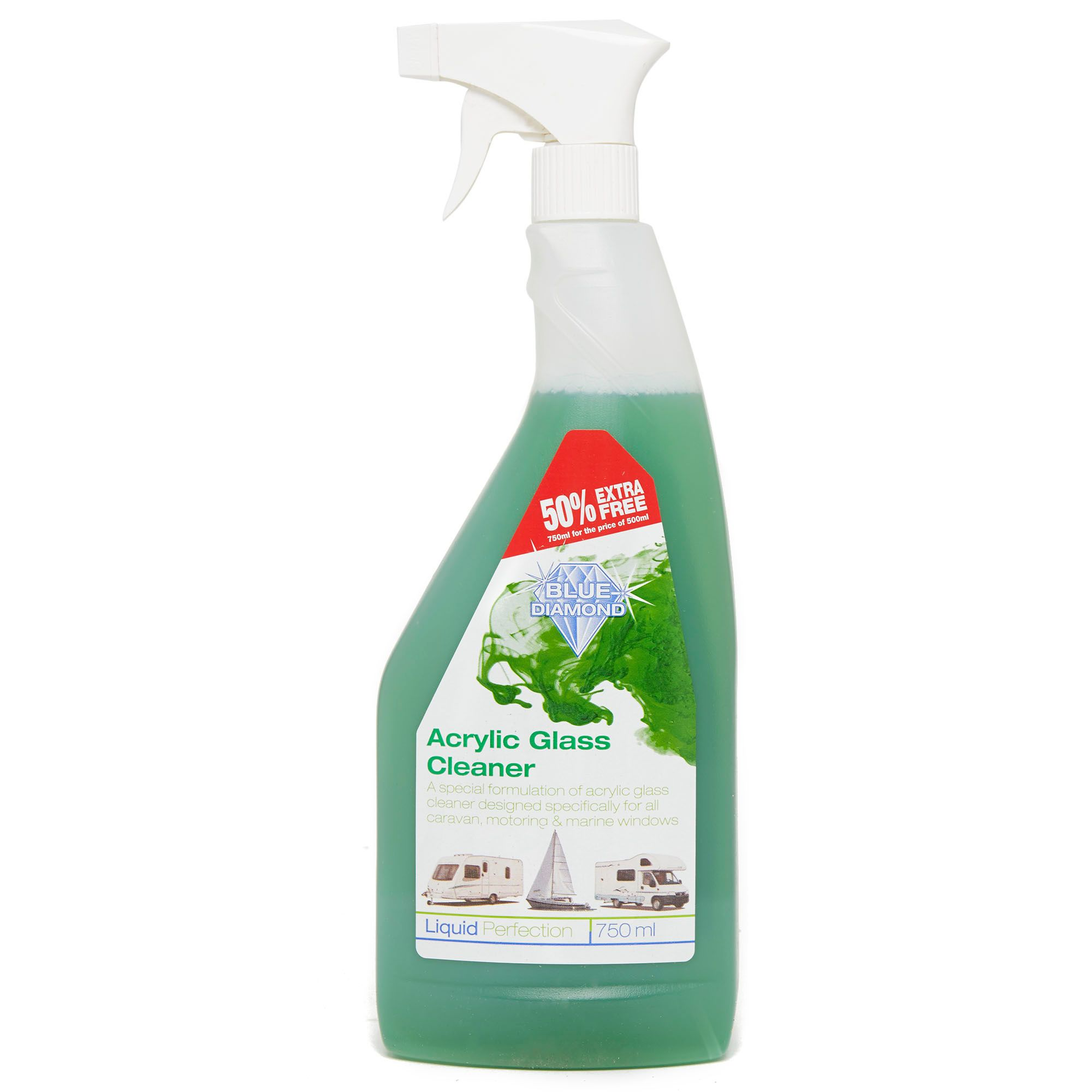BLUE DIAMOND Acrylic Glass Cleaner 750ml