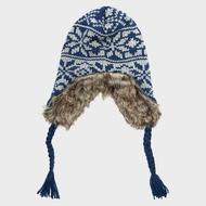 Men's Faux Fur Inca Hat
