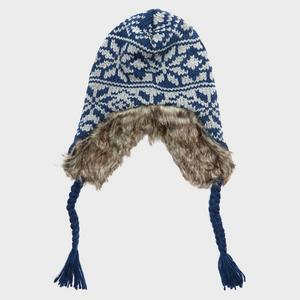 ALPINE Men's Faux Fur Inca Hat