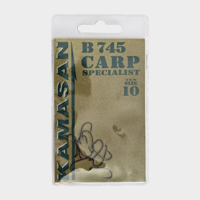 B745 Eyed Barbless Hooks Size 10