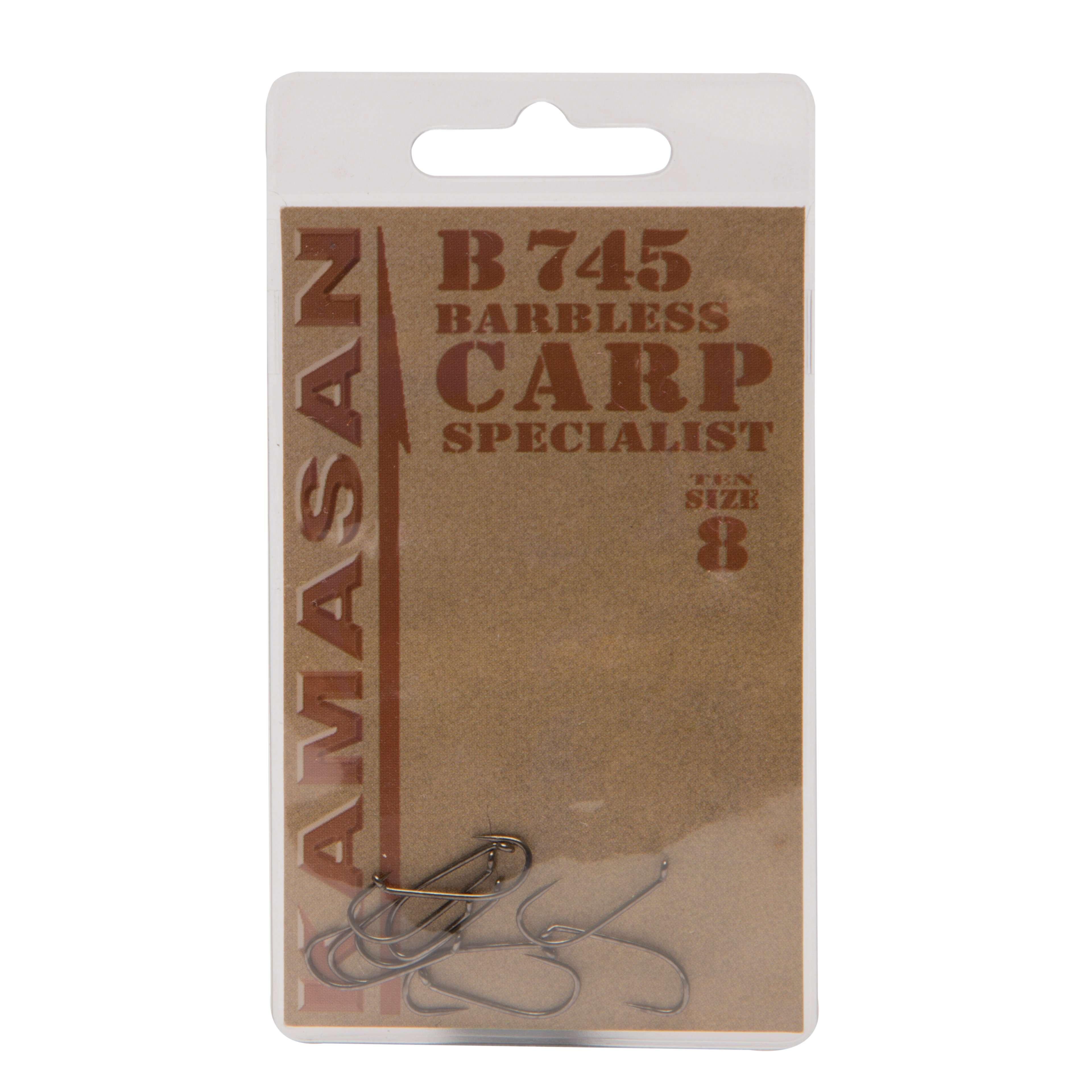 KAMASAN B745 Carp Fishing Hooks - Size 8