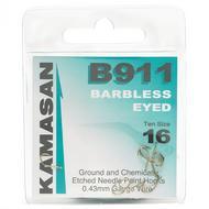 B981 Eyed Barbless Hooks - Size 16