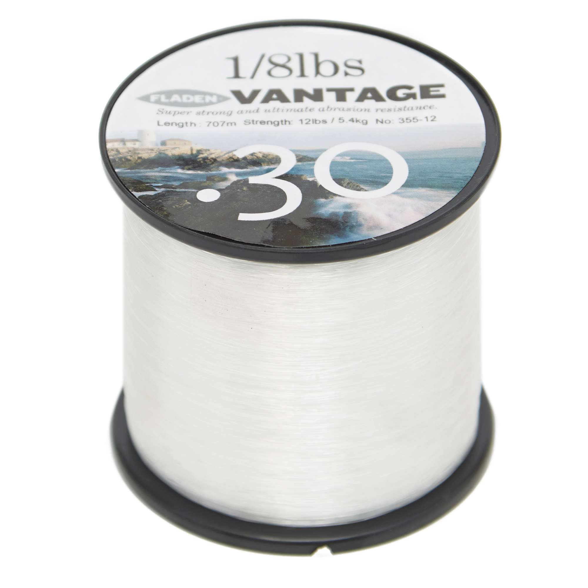 FLADEN Vantage Pro 12lb Clear Fishing Line
