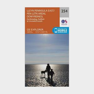 ORDNANCE SURVEY Explorer 254 Lleyn Peninsula East Map With Digital Version