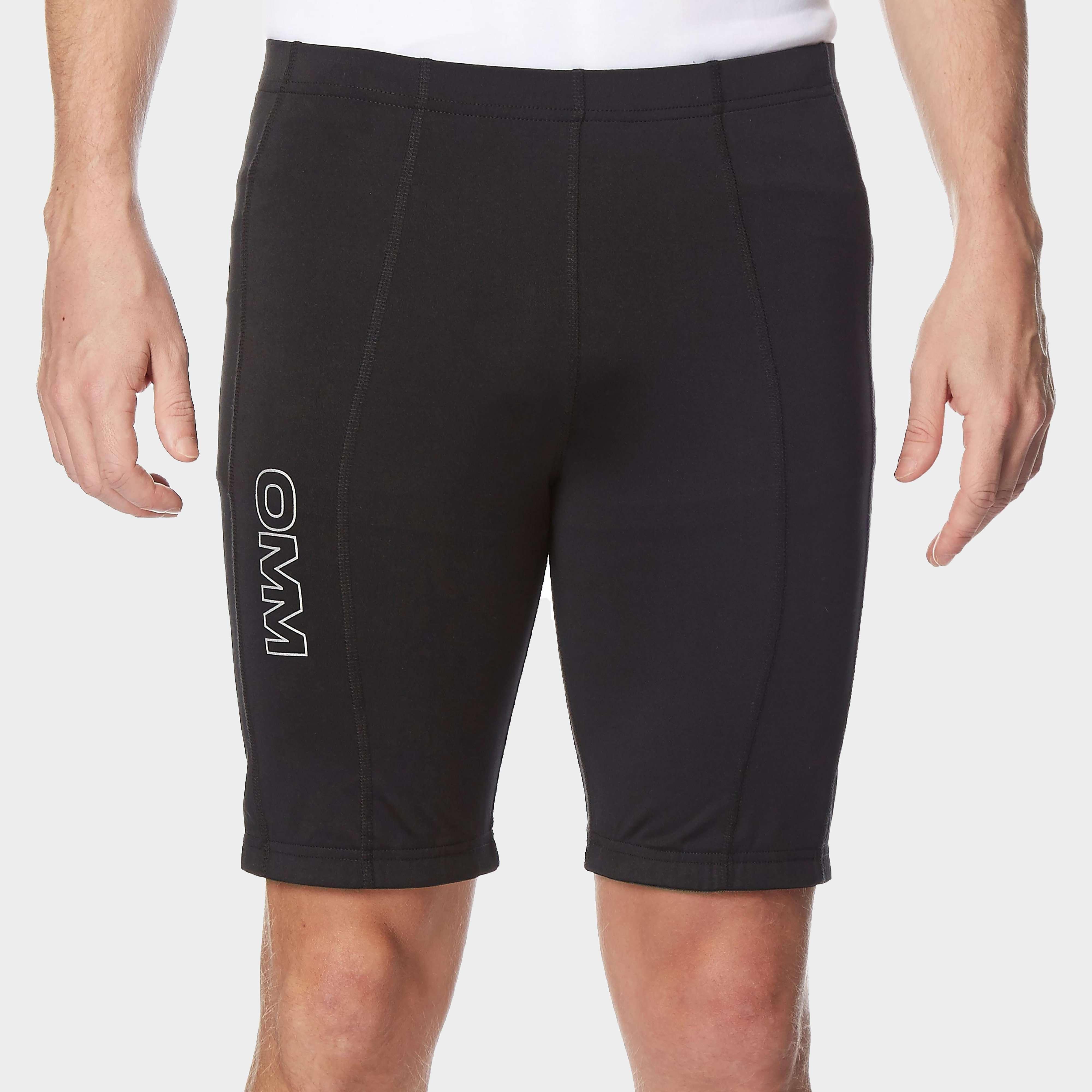OMM Men's Flash 0.5 Short Cut Running Leggings
