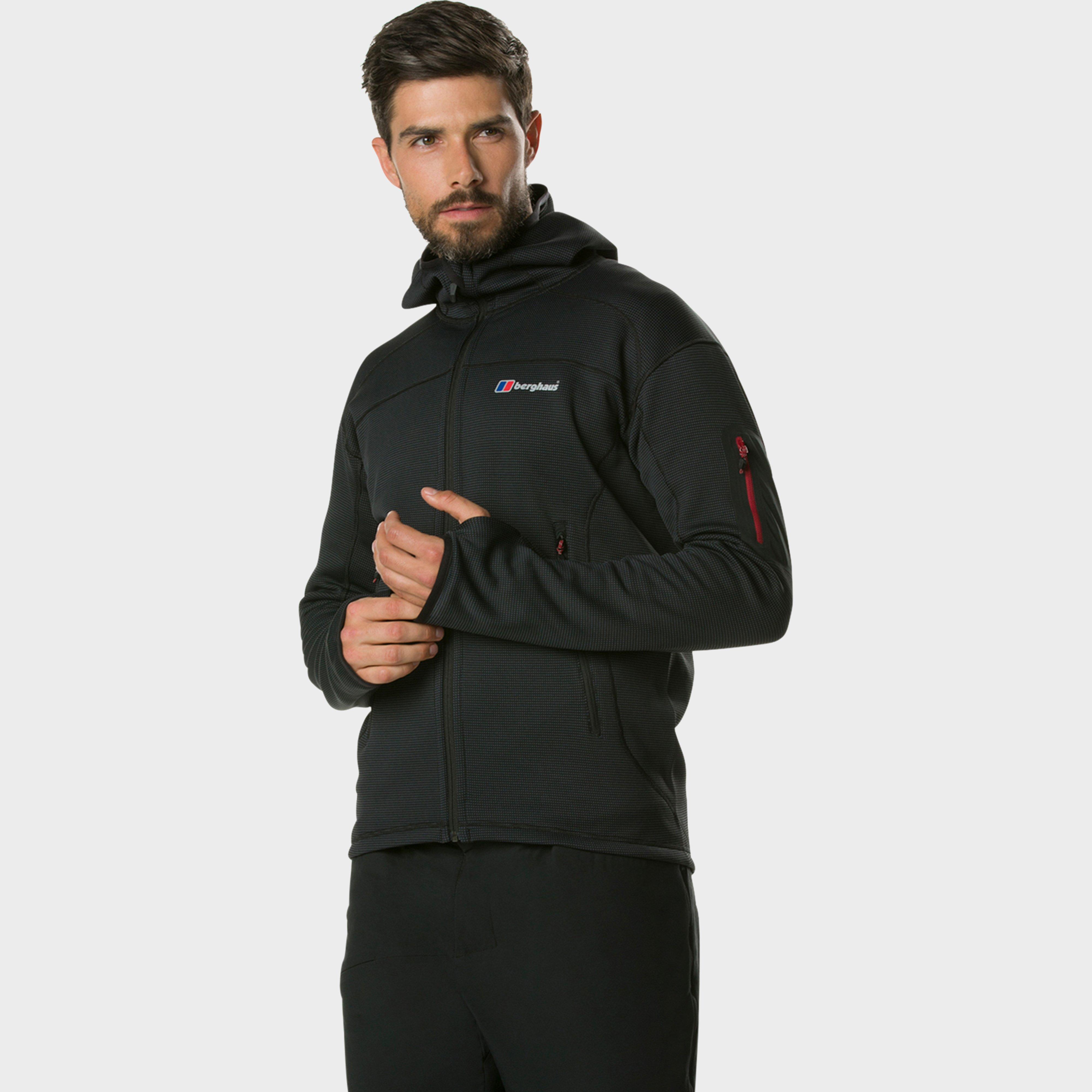 Berghaus Mens Pravitale Mountain Lightweight Jacket - Black/black  Black/black