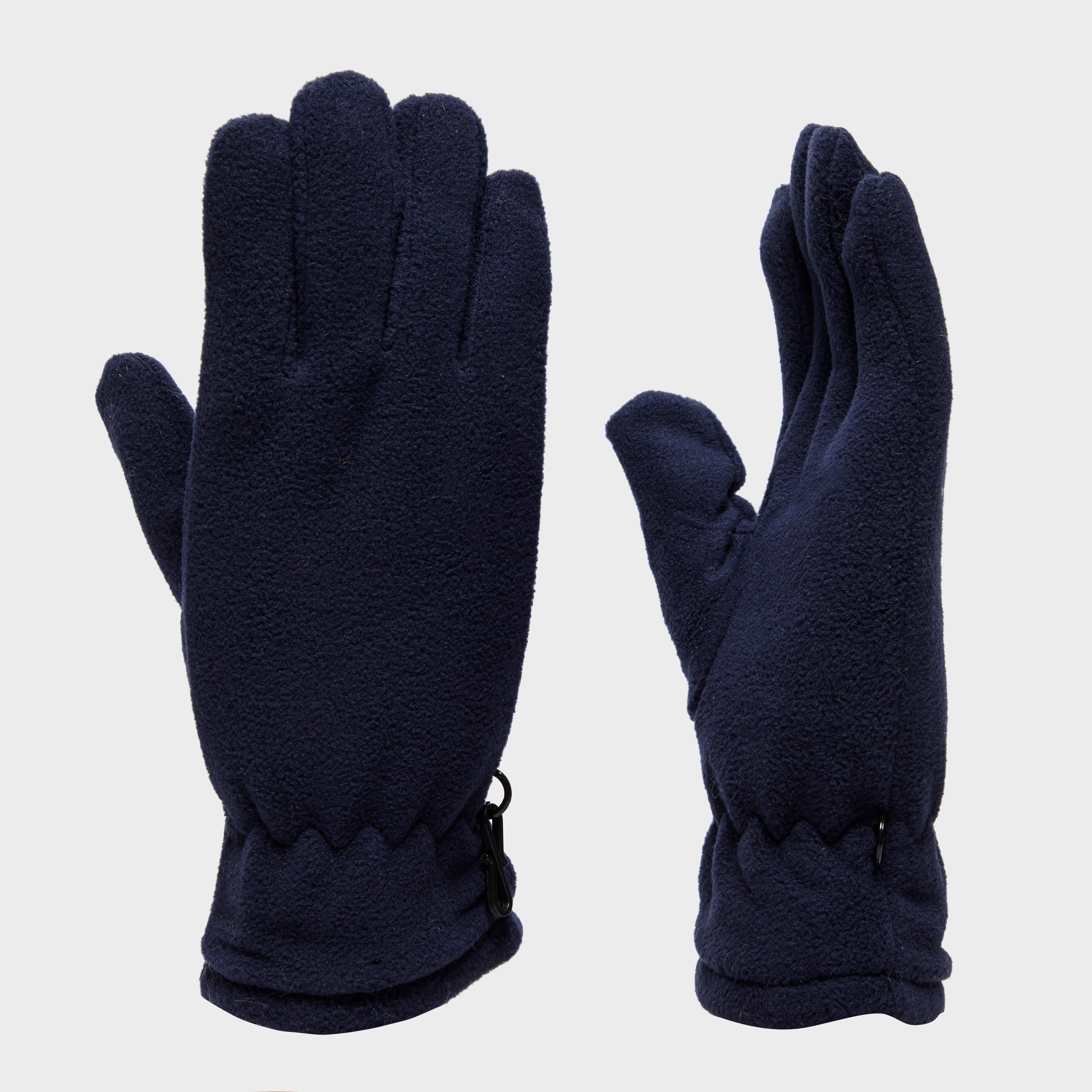 Peter Storm Unisex Thinsulate Fleece Gloves - Navy, Navy