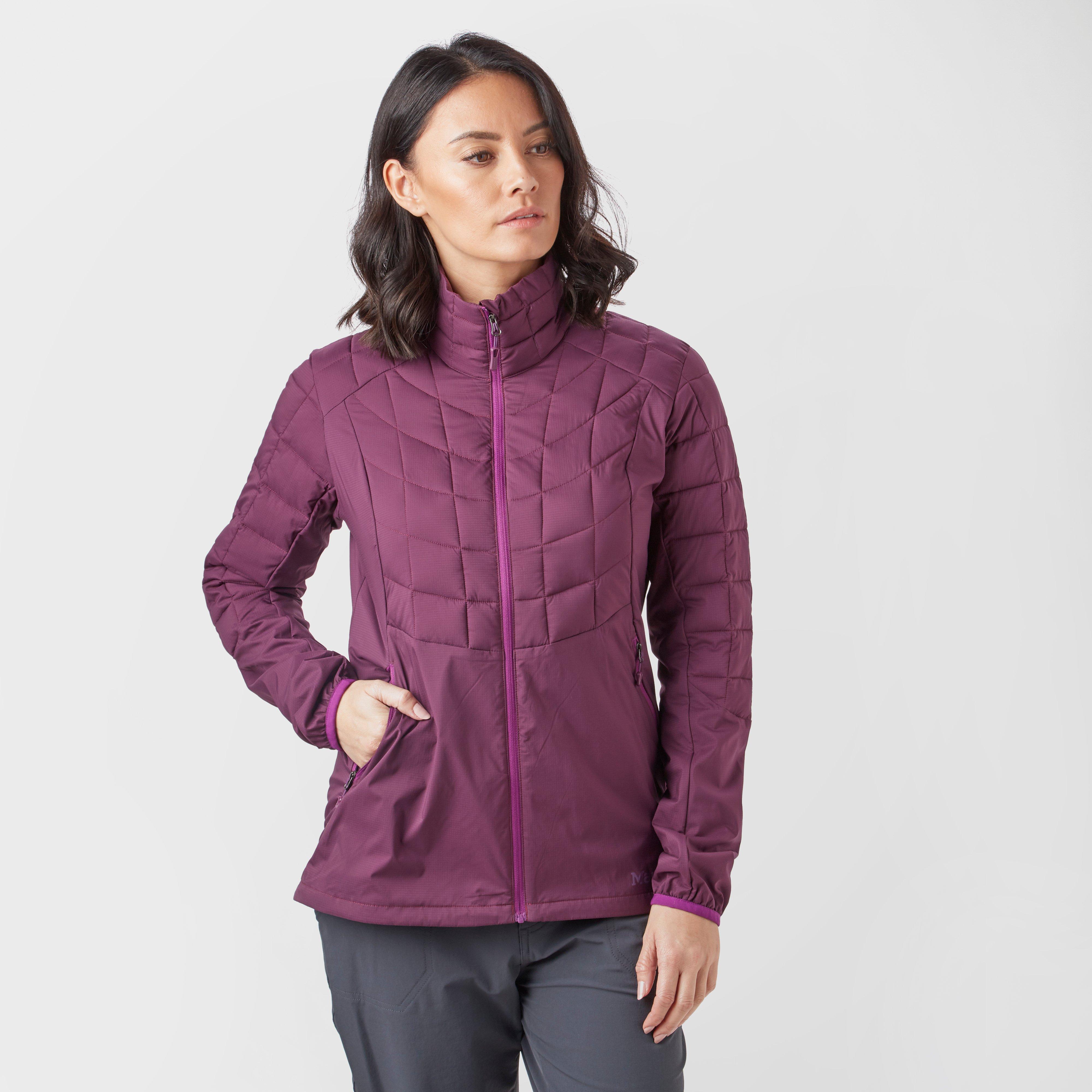 Marmot Women's Featherless Hybrid Jacket, Purple