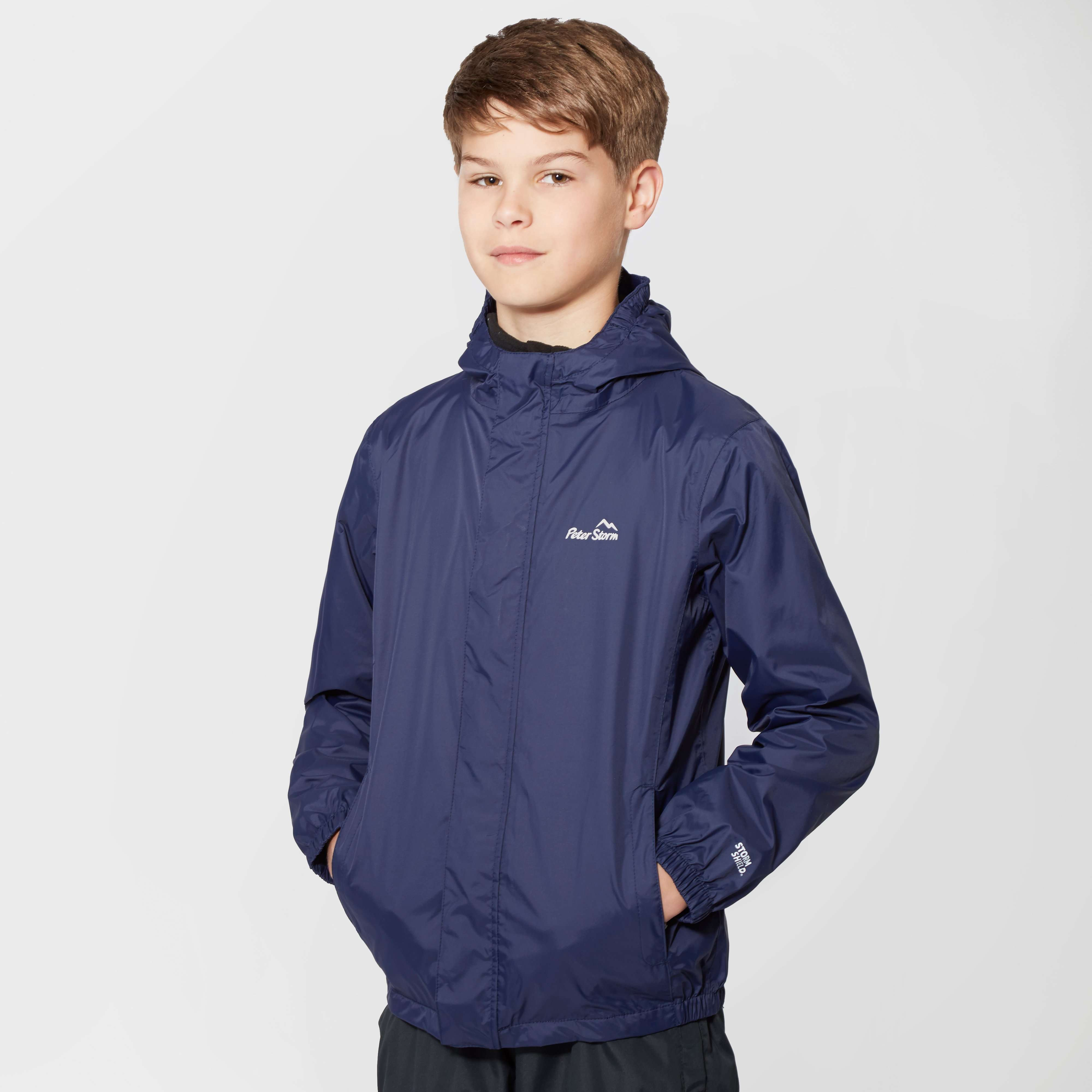 PETER STORM Kids' Unisex Packable Waterproof Jacket
