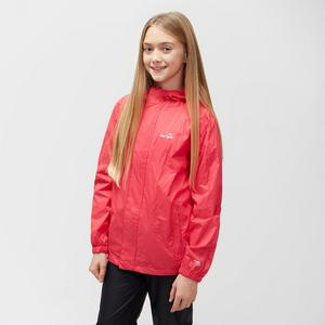 Girls' Packable Waterproof Jacket