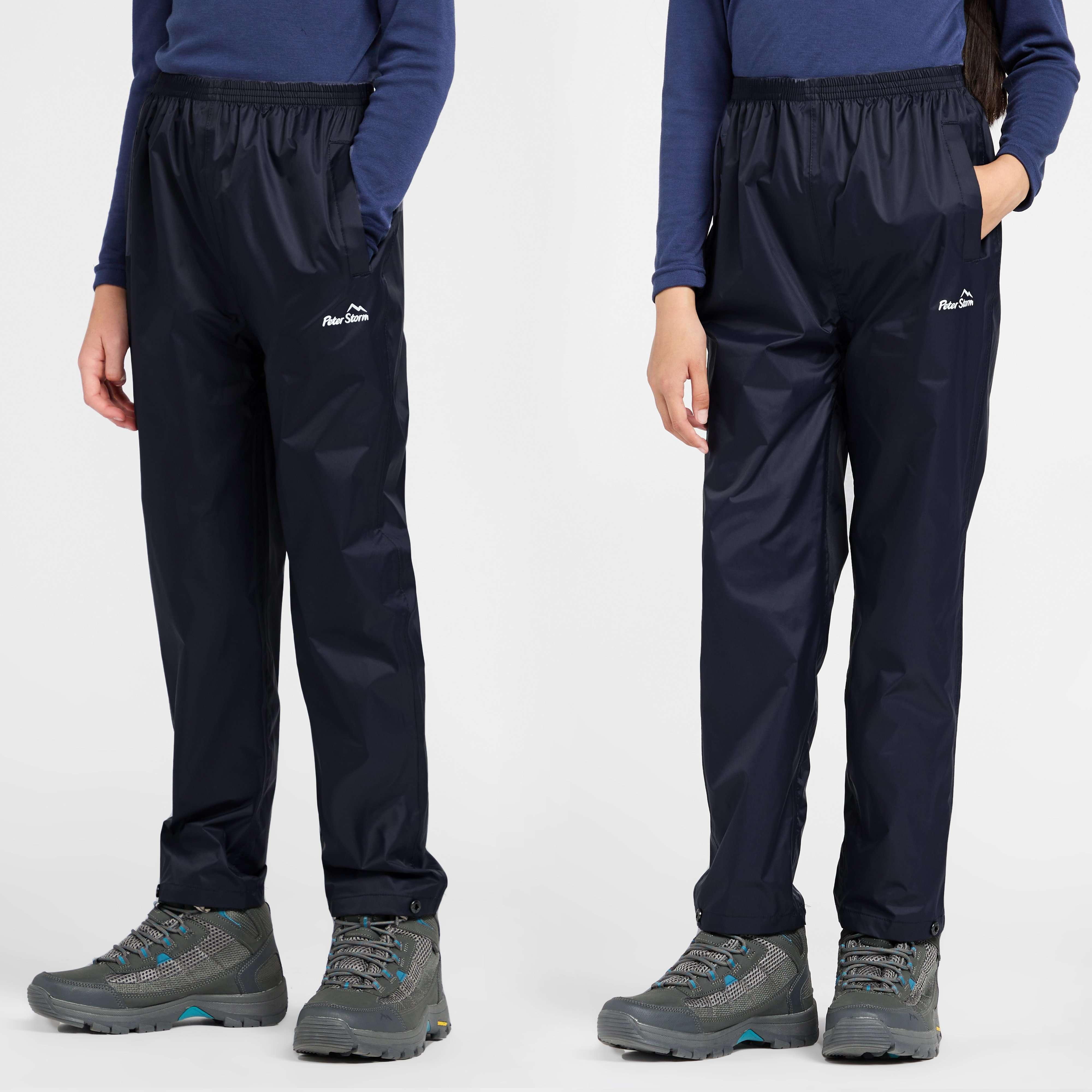 PETER STORM Kids' Unisex Packable Pants