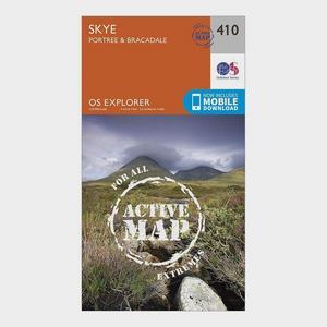 ORDNANCE SURVEY Explorer Active 410 Skye – Portree & Bracadale Map With Digital Version