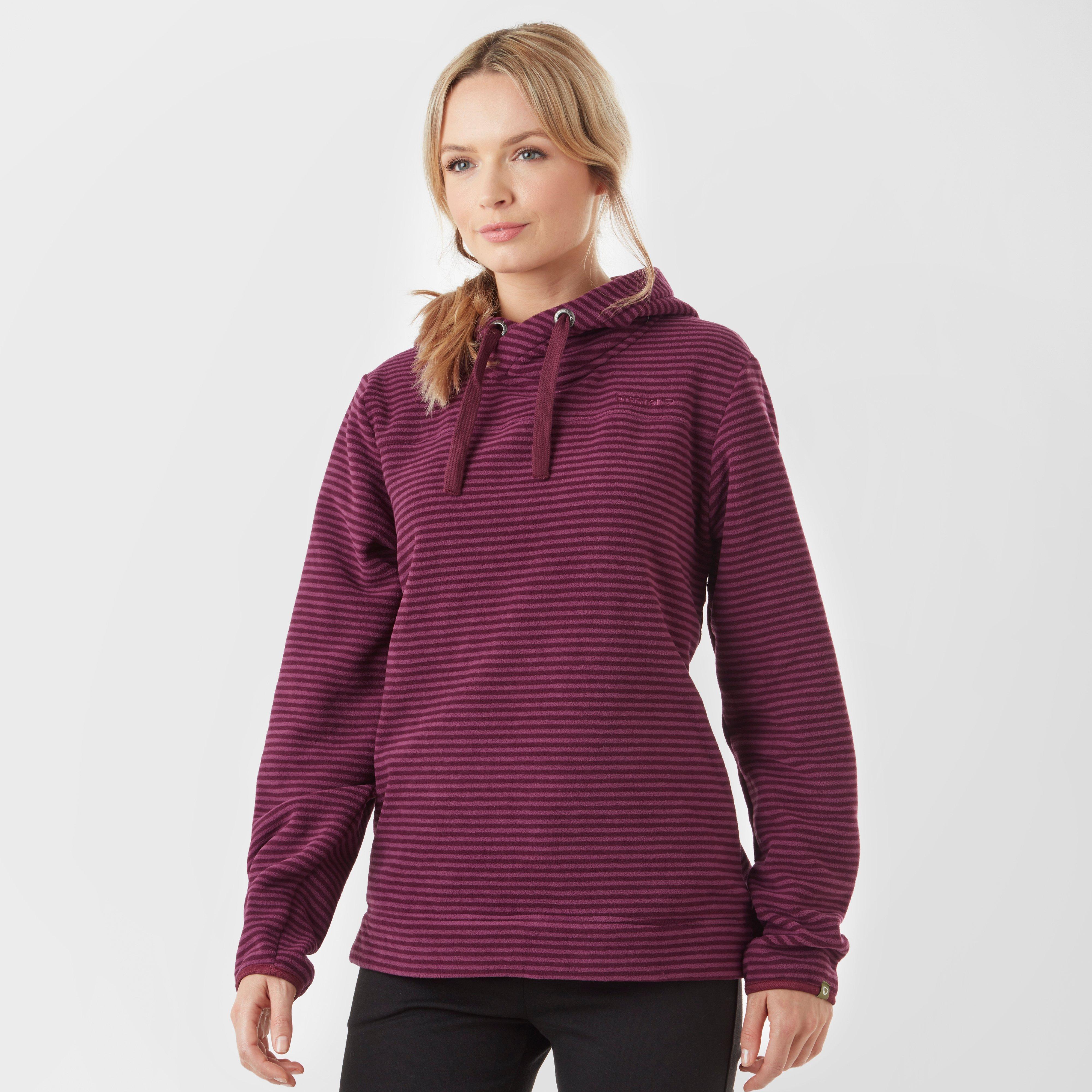 Brasher Womens Wildemoor Hooded Fleece - Pink/mpk  Pink/mpk