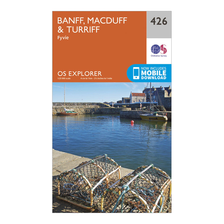 Ordnance Survey Explorer 426 Banff  MacduffandTurriff Map With Digital Version - D/d  D/d