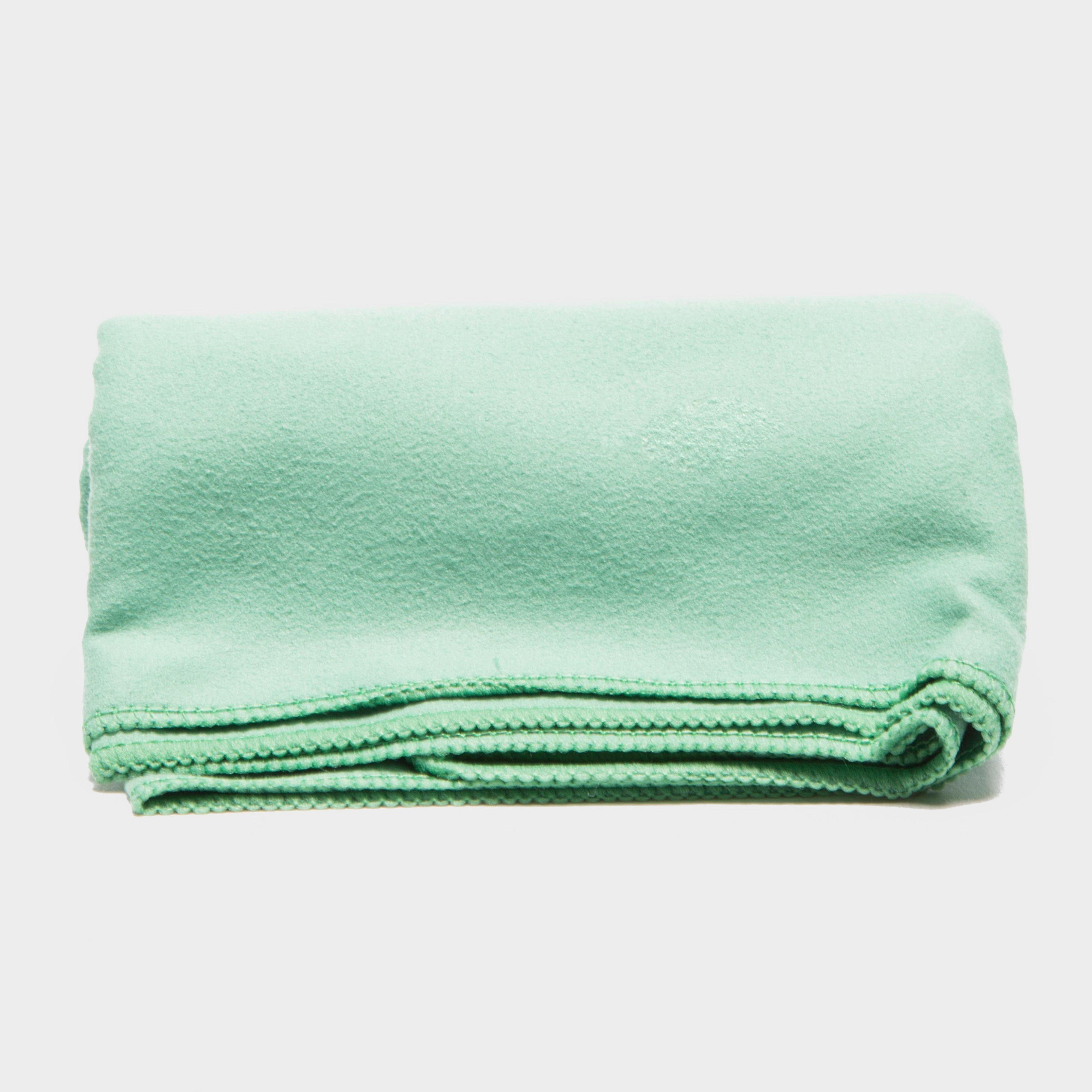 Eurohike Microfibre Suede Twill Travel Towel Small Green