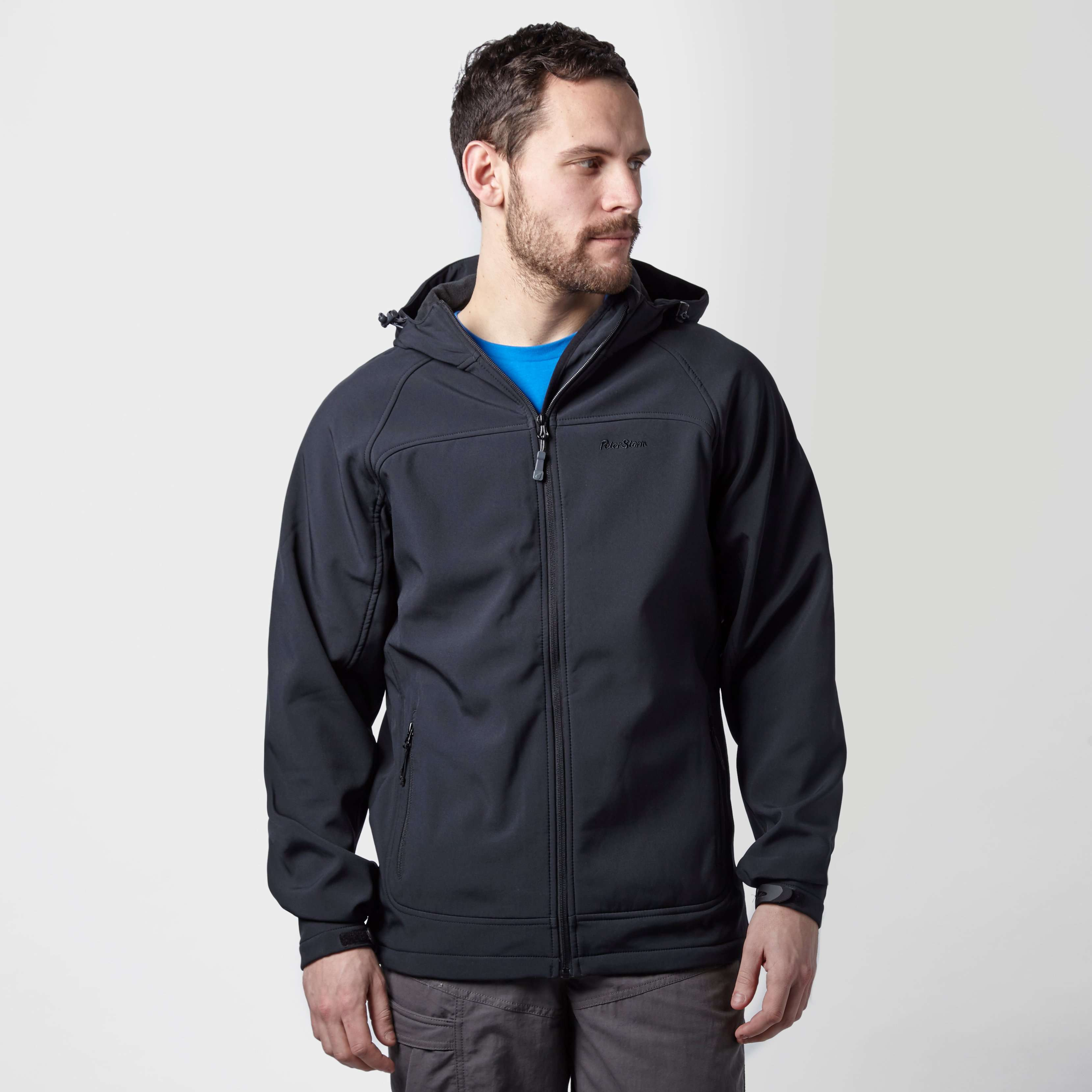 PETER STORM Men's Hooded Softshell Jacket