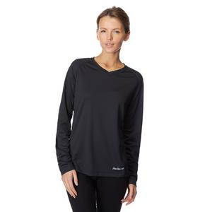 PETER STORM Women's Long Sleeve V-Neck Tech Tee