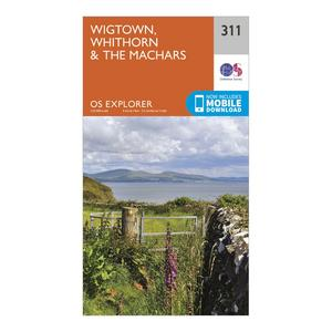 ORDNANCE SURVEY Explorer 311 Wigtown, Whithorn & The Machars Map With Digital Version