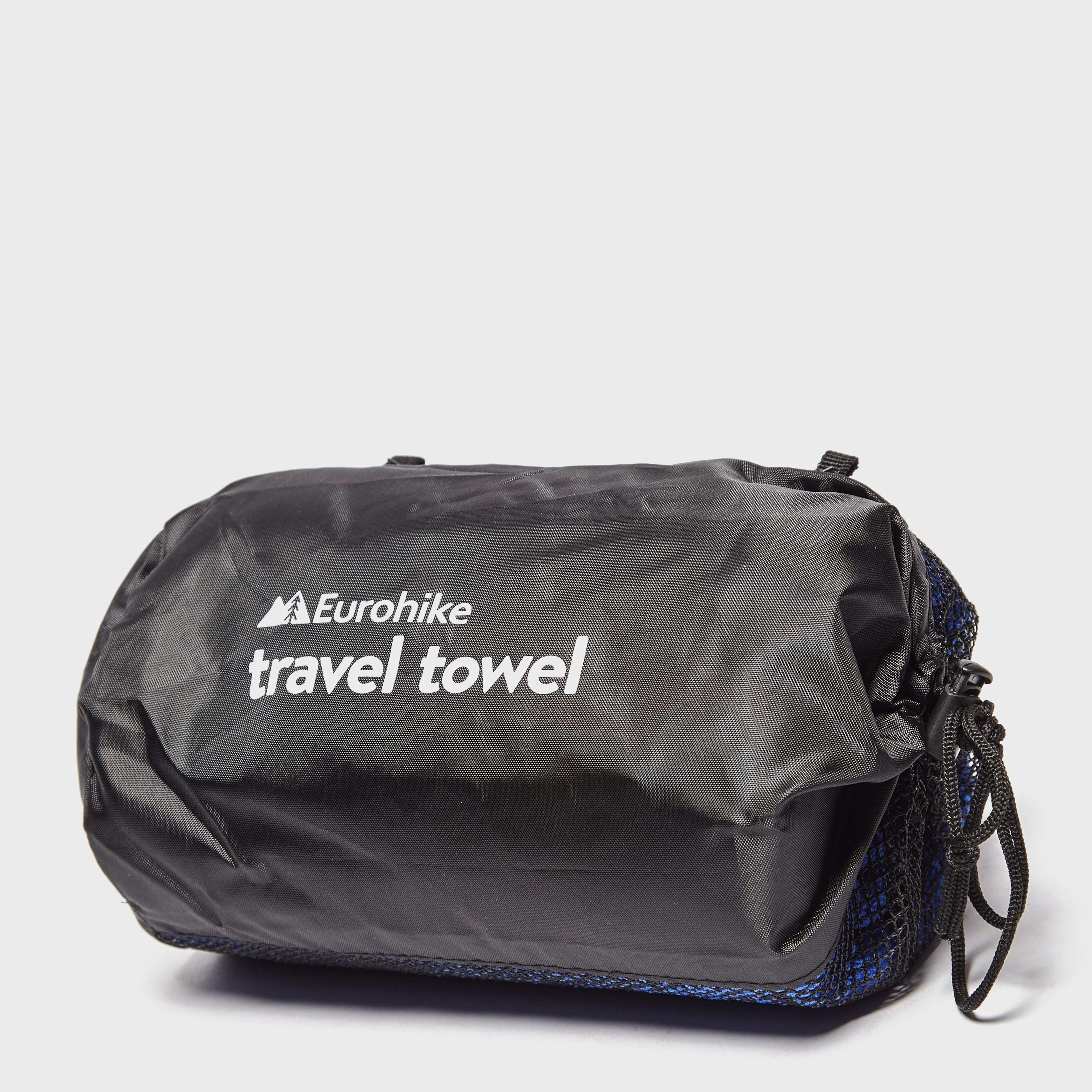 EUROHIKE Terry Microfibre Travel Towel - Large