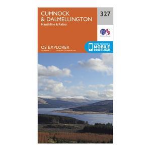 ORDNANCE SURVEY Explorer 327 Cumnock & Dalmellington Map With Digital Version