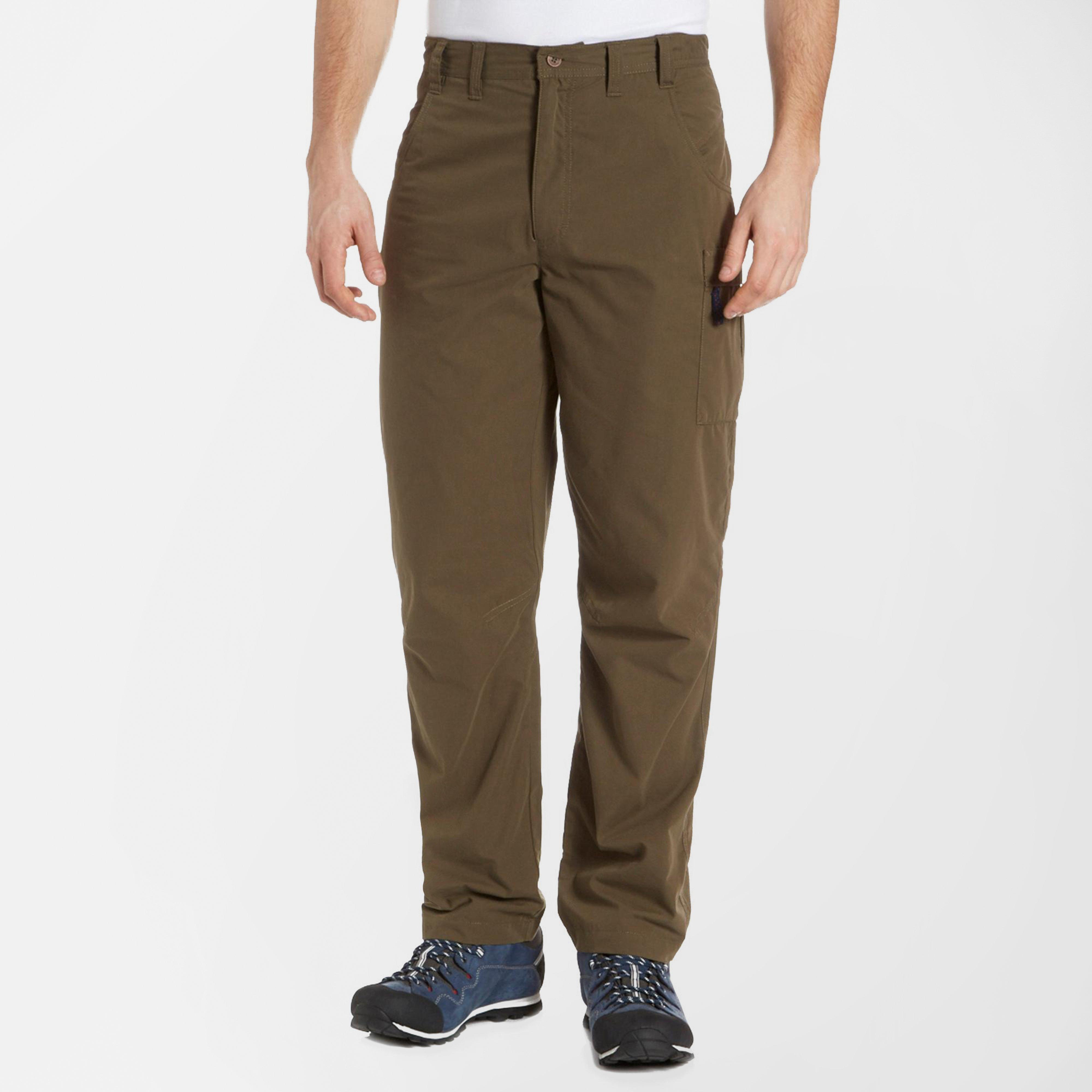 Berghaus Mens Navigator Cargo Trousers Khaki