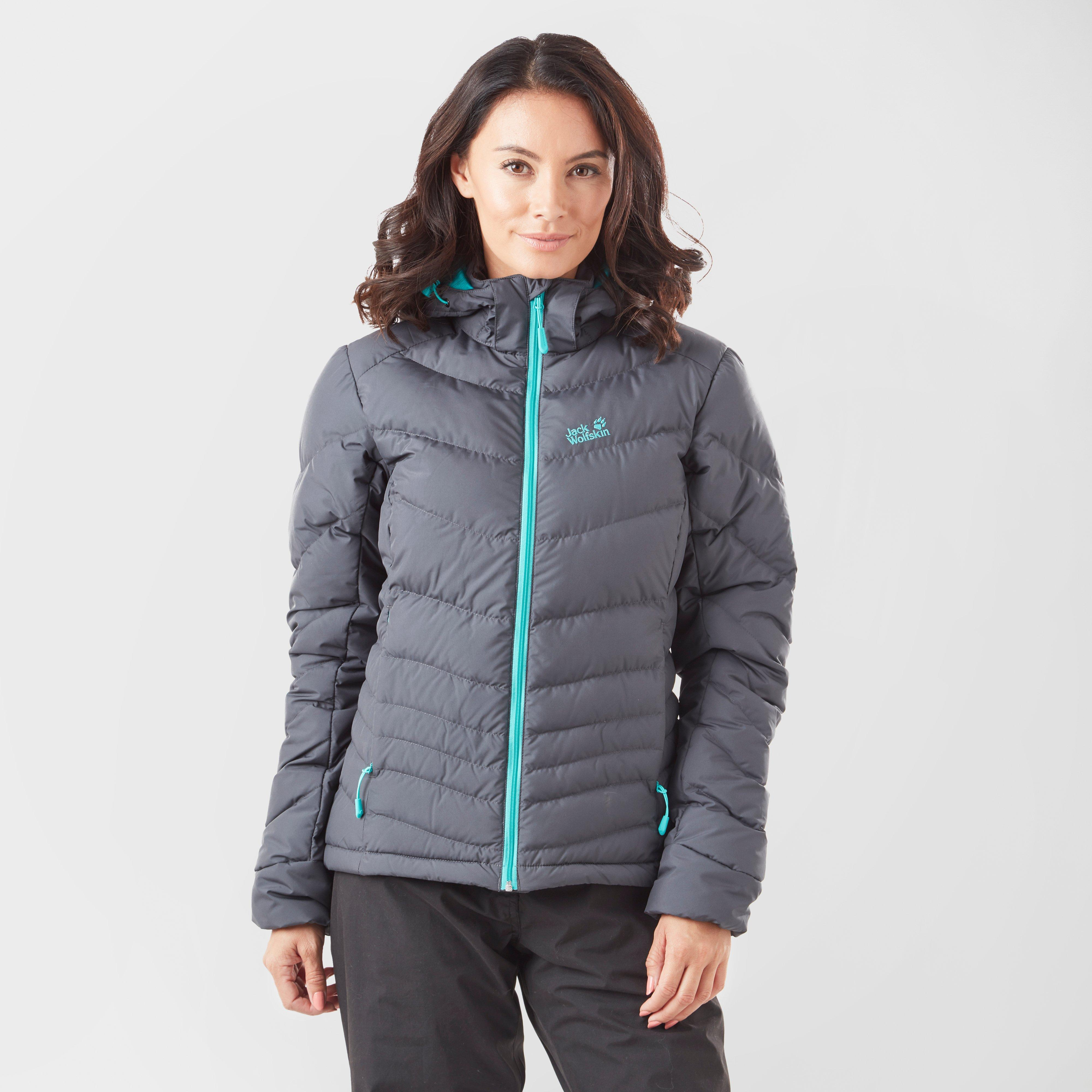 Jack Wolfskin Women's Serenia Down Jacket, Grey