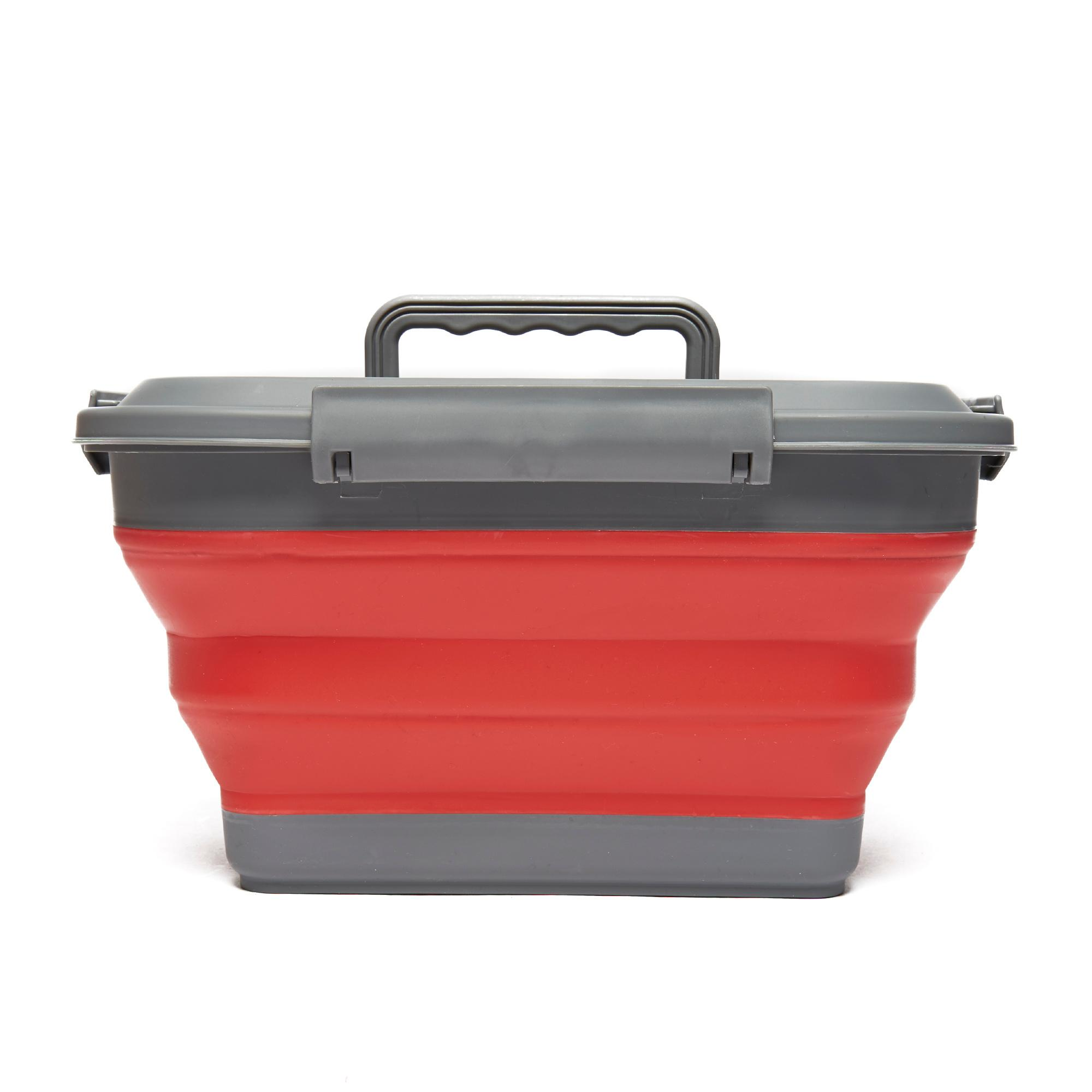 Outwell Collapsible Storage Box Red