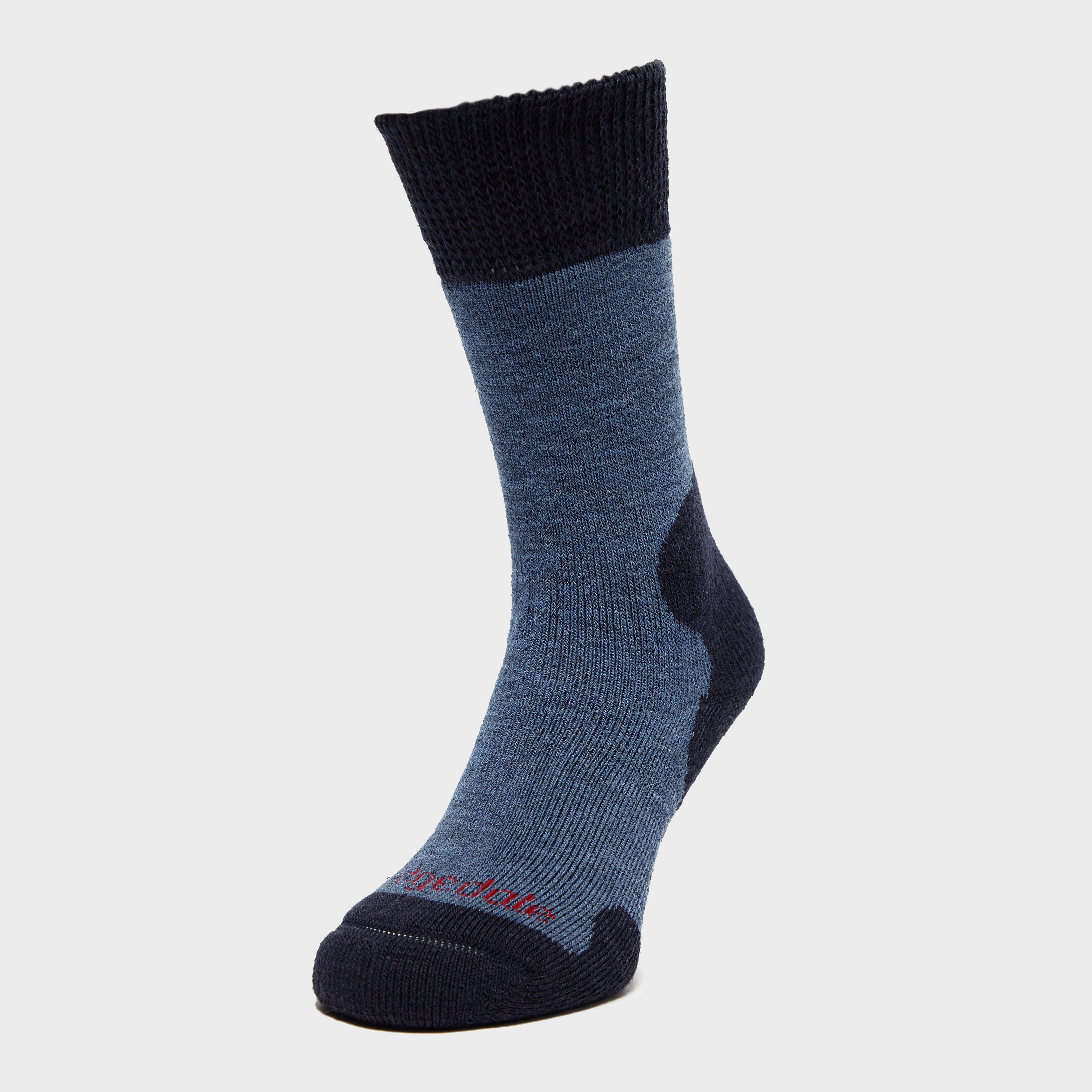 Bridgedale Women's Explorer Heavyweight Boot Sock, Navy