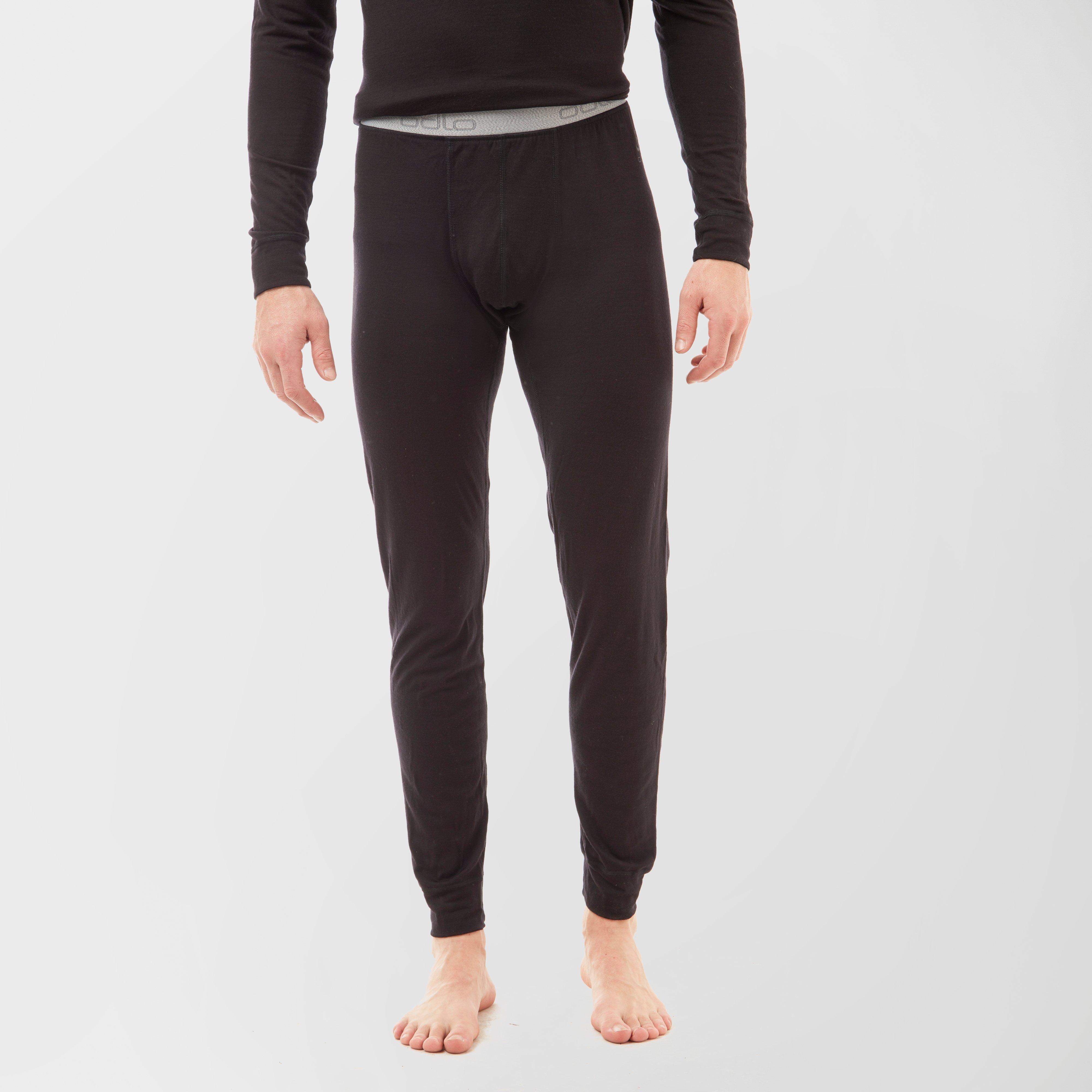 Odlo Mens Merino Warm Pants - Black/blk  Black/blk