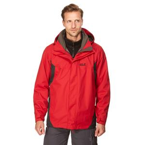 JACK WOLFSKIN Men's Tarpoto 3 in 1 Jacket