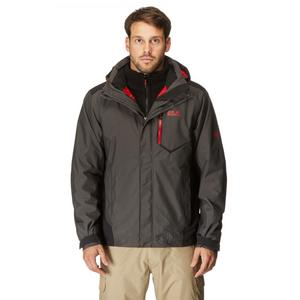 JACK WOLFSKIN Men's Prisma 3 in 1 Texapore Jacket