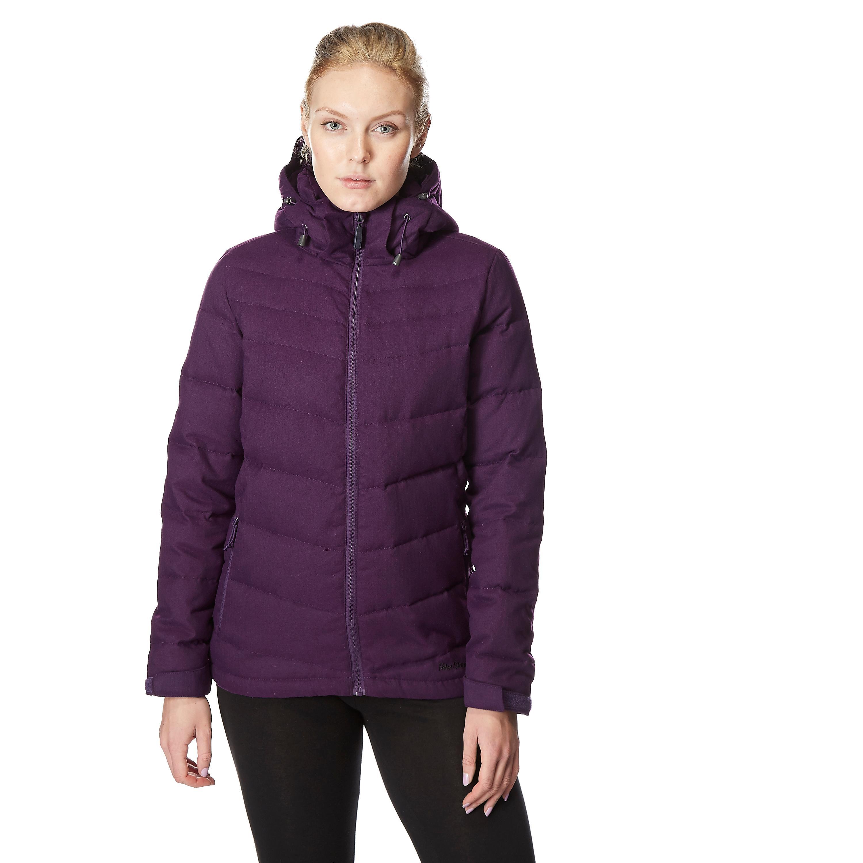 Peter Storm Women's Textured Down Jacket, Purple