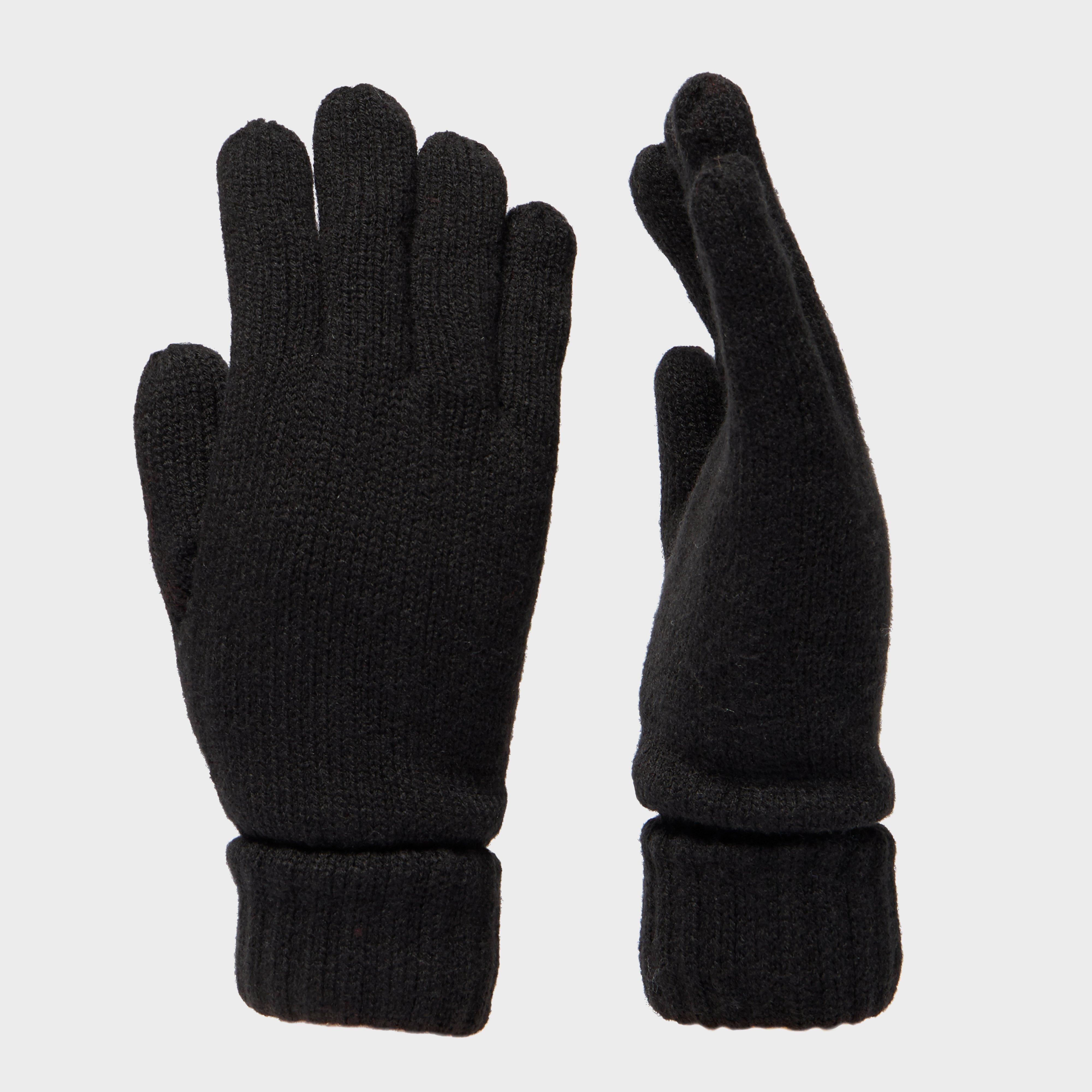Peter Storm Unisex Borg Glove, Black