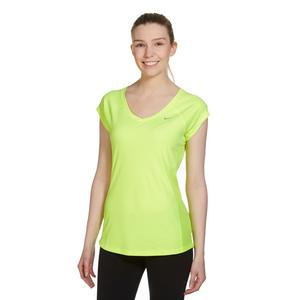 Nike Women's Miler Short Sleeve V-Neck Tee