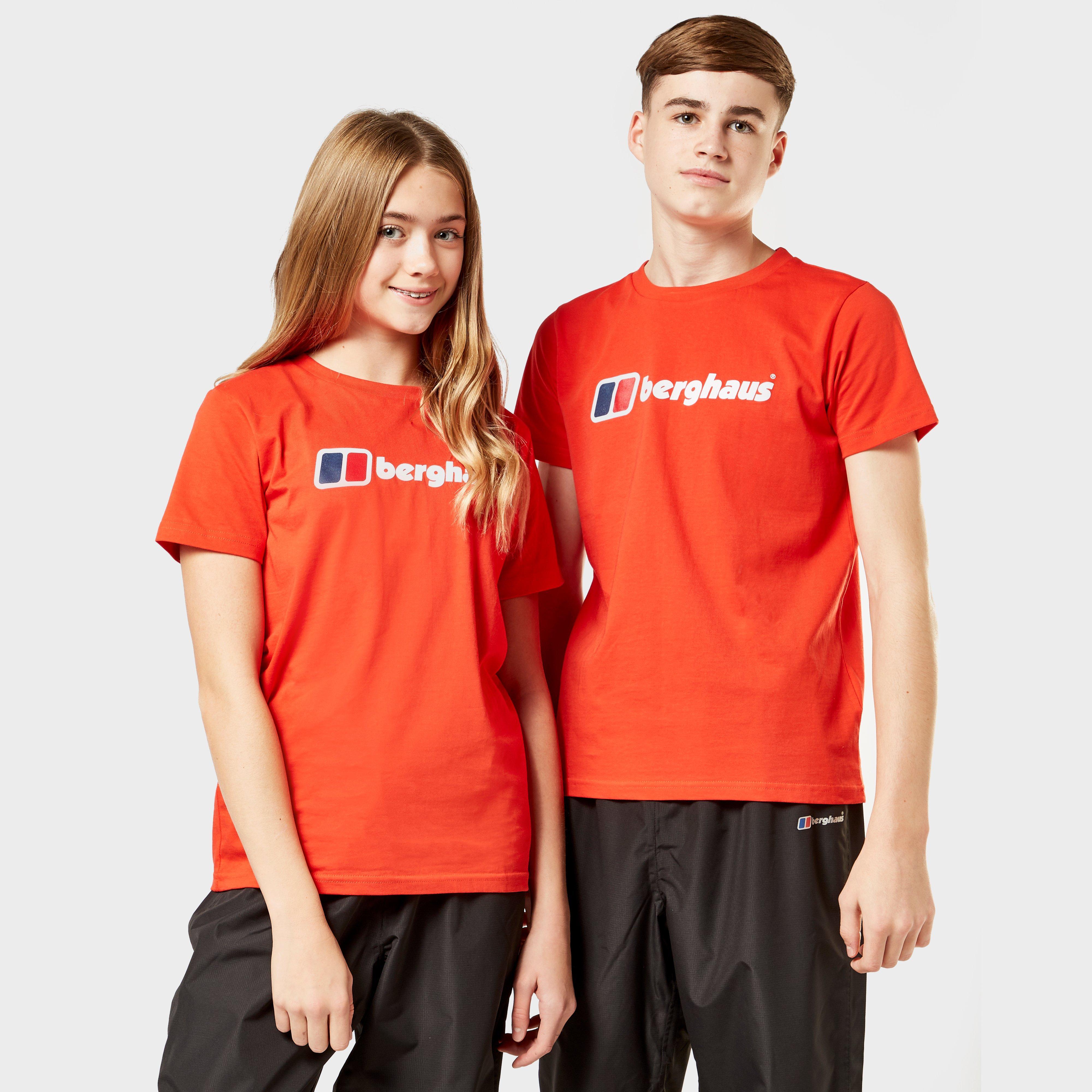 Berghaus Kids Logo T-shirt - Red/red  Red/red