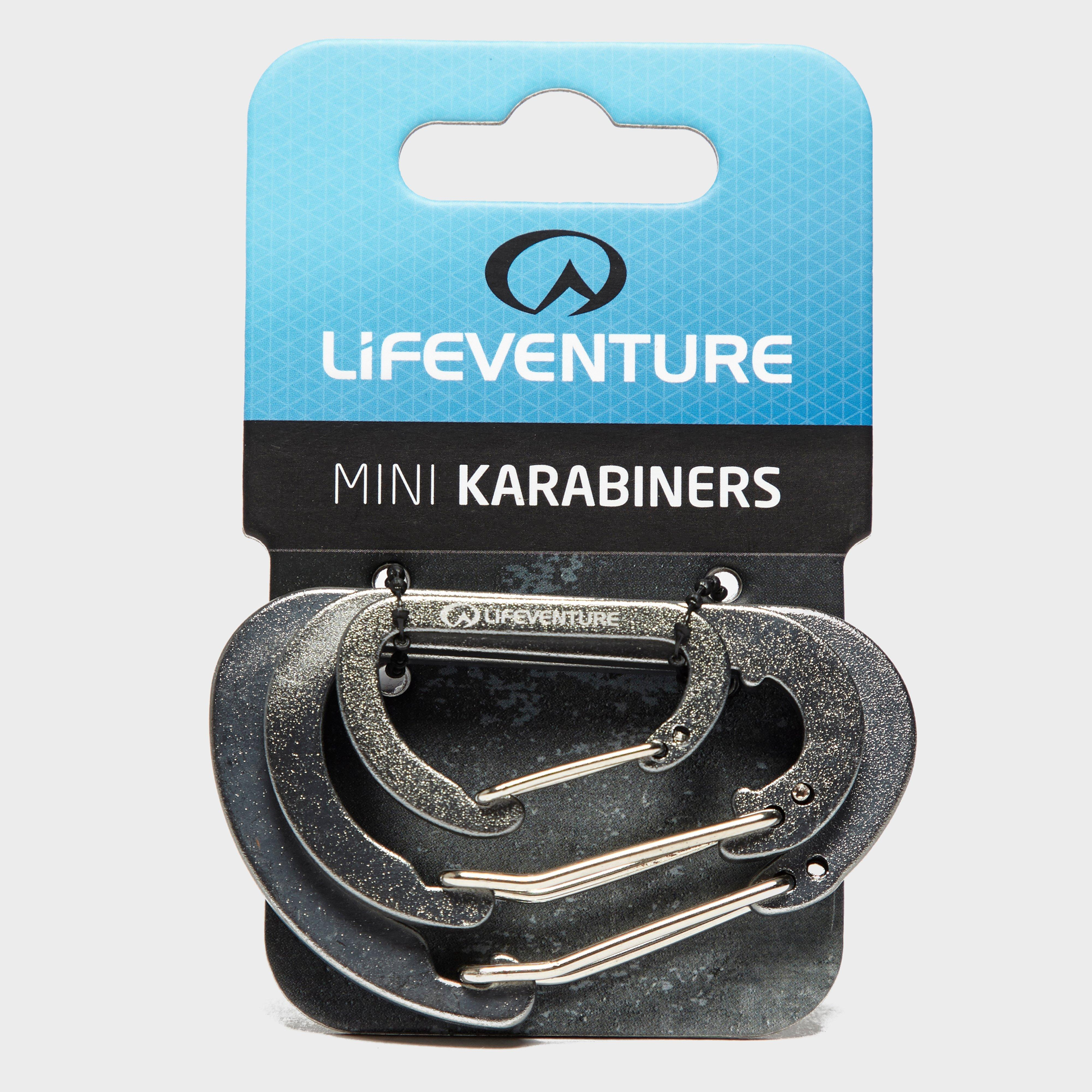 Lifeventure Carabiner (3 Pack), Red