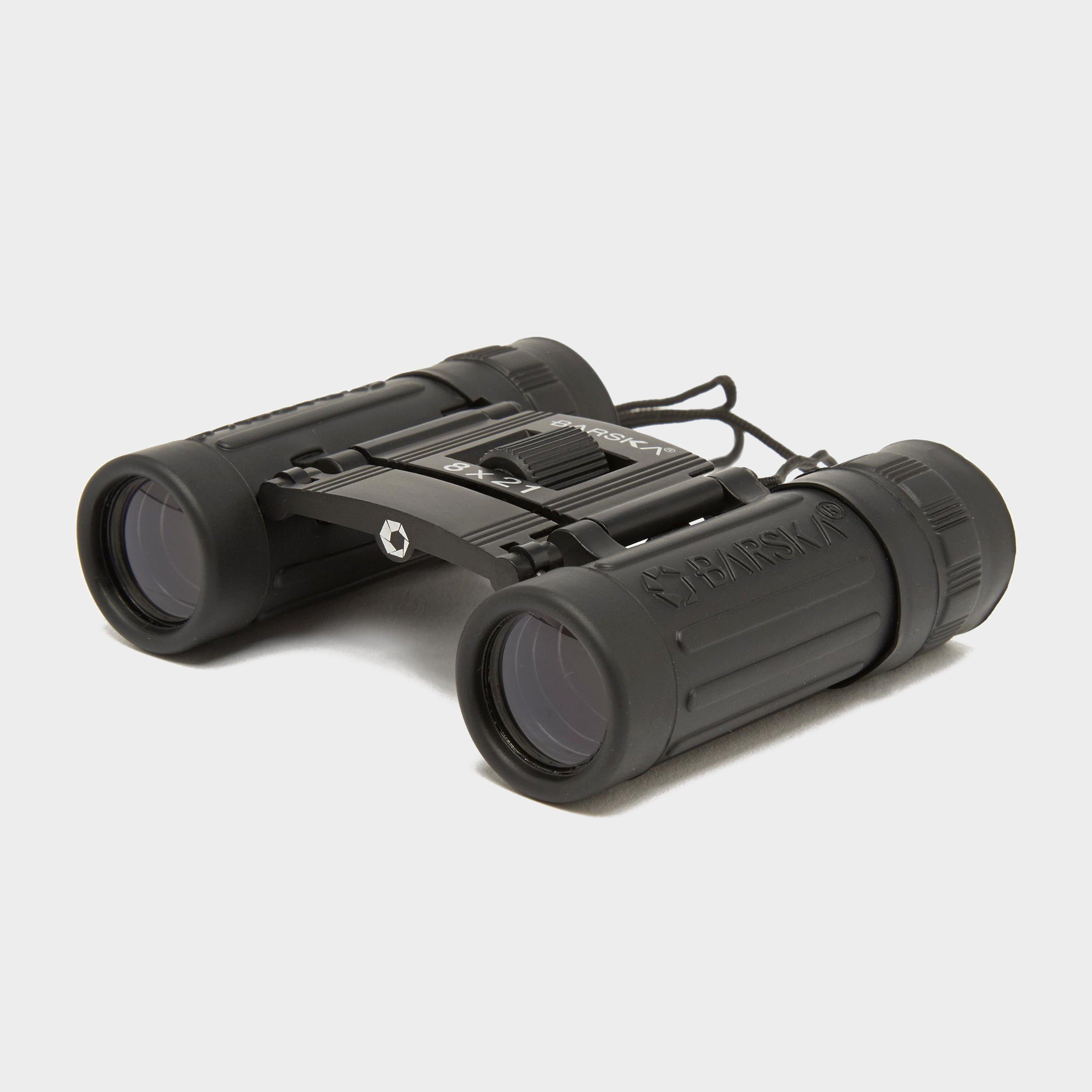 Barska Lucid View 8 X 21 Binoculars - Black/blk  Black/blk