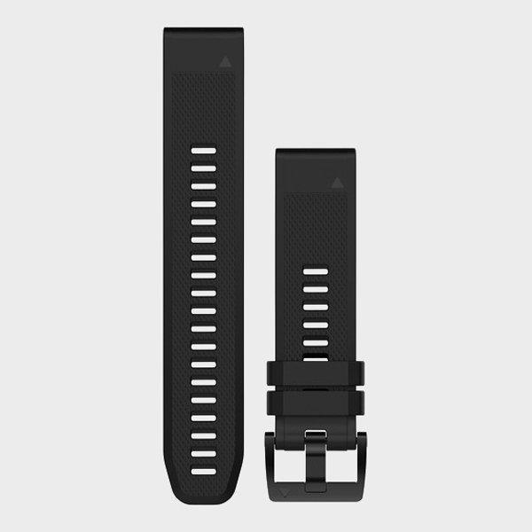 Garmin Quickfit 22 Watch Strap - Black/blk  Black/blk