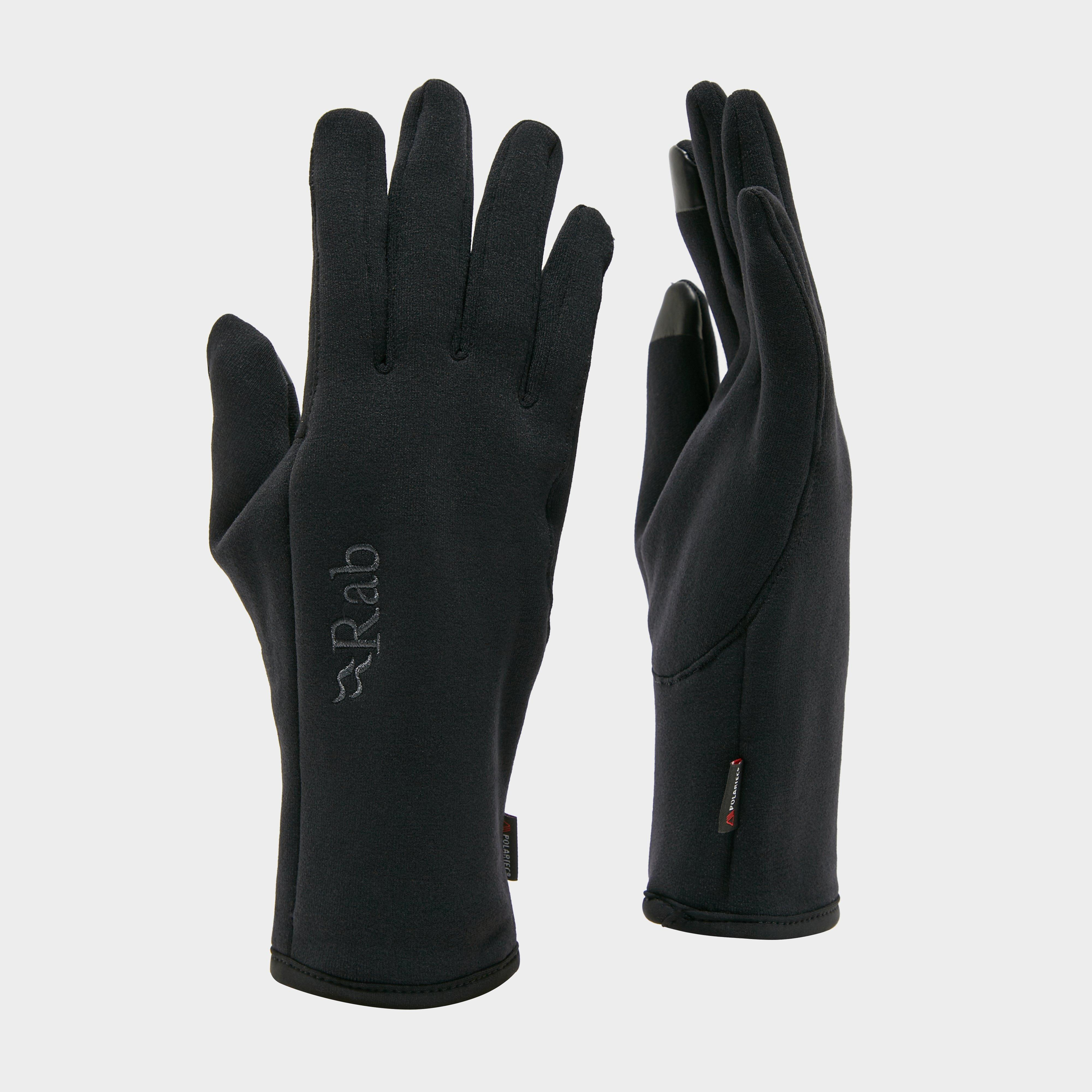 Rab Power Stretch Contact Glove, Black