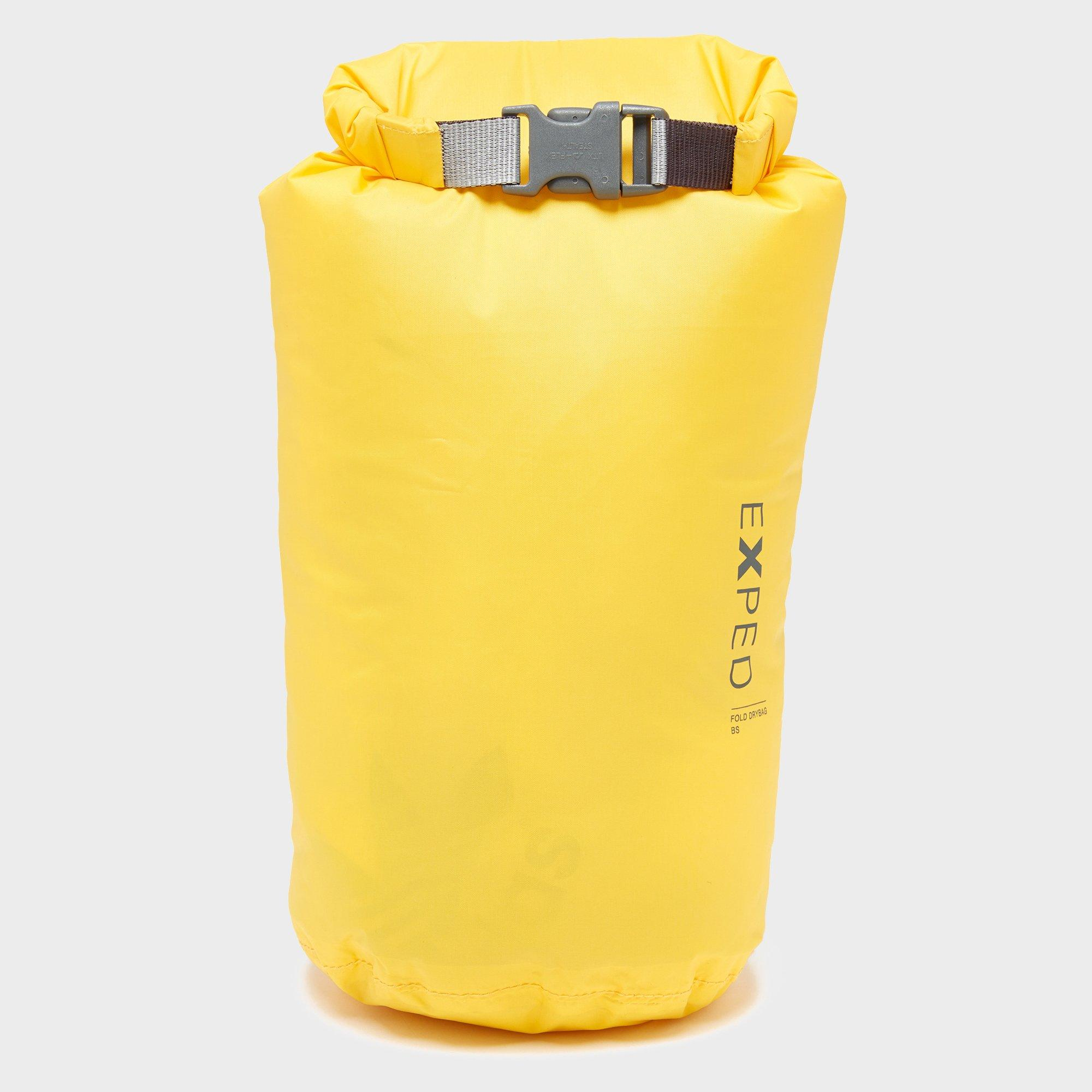 Exped Expedition 5L Dry Fold Bag, Yellow