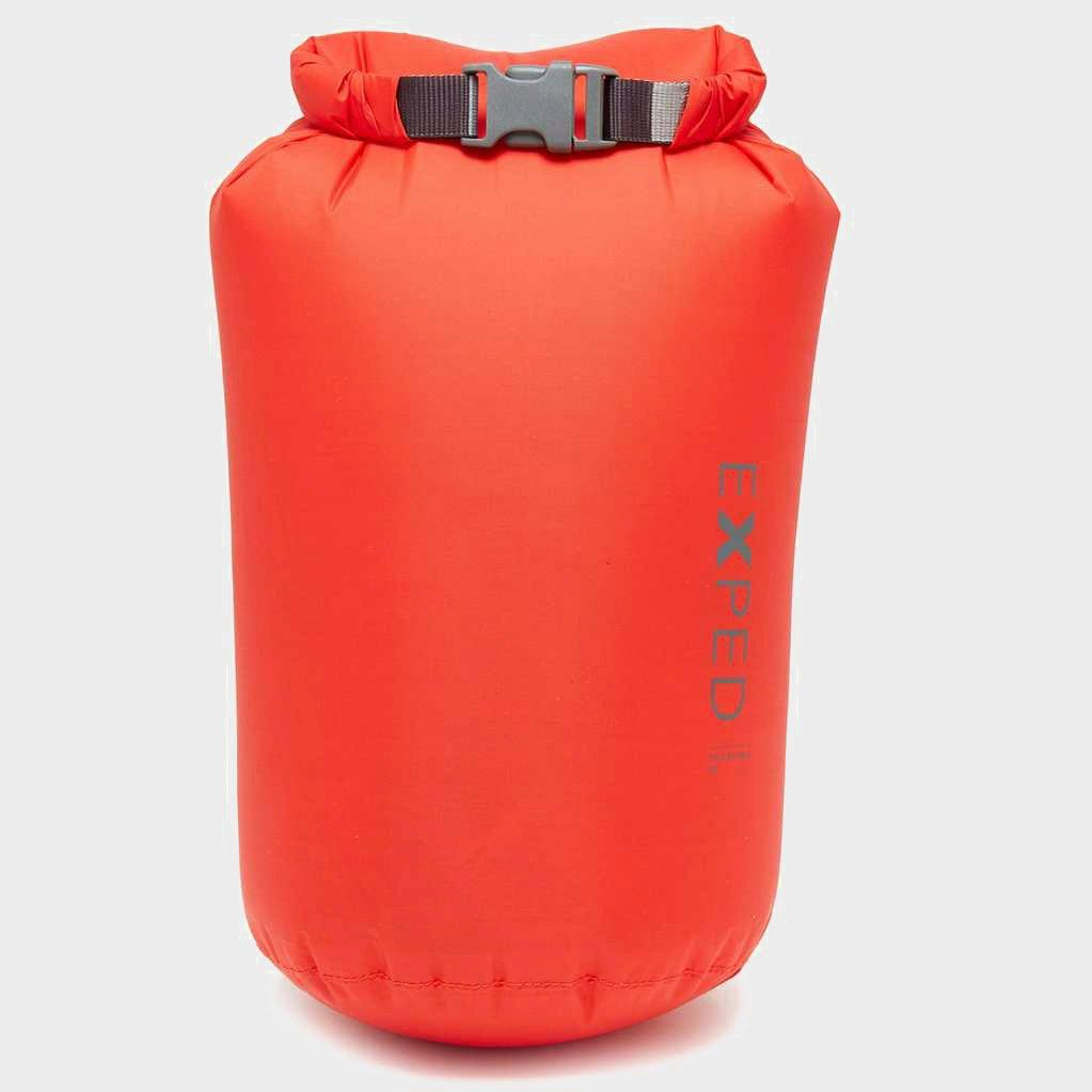 Exped Expedition 8L Dry Fold Bag, Red