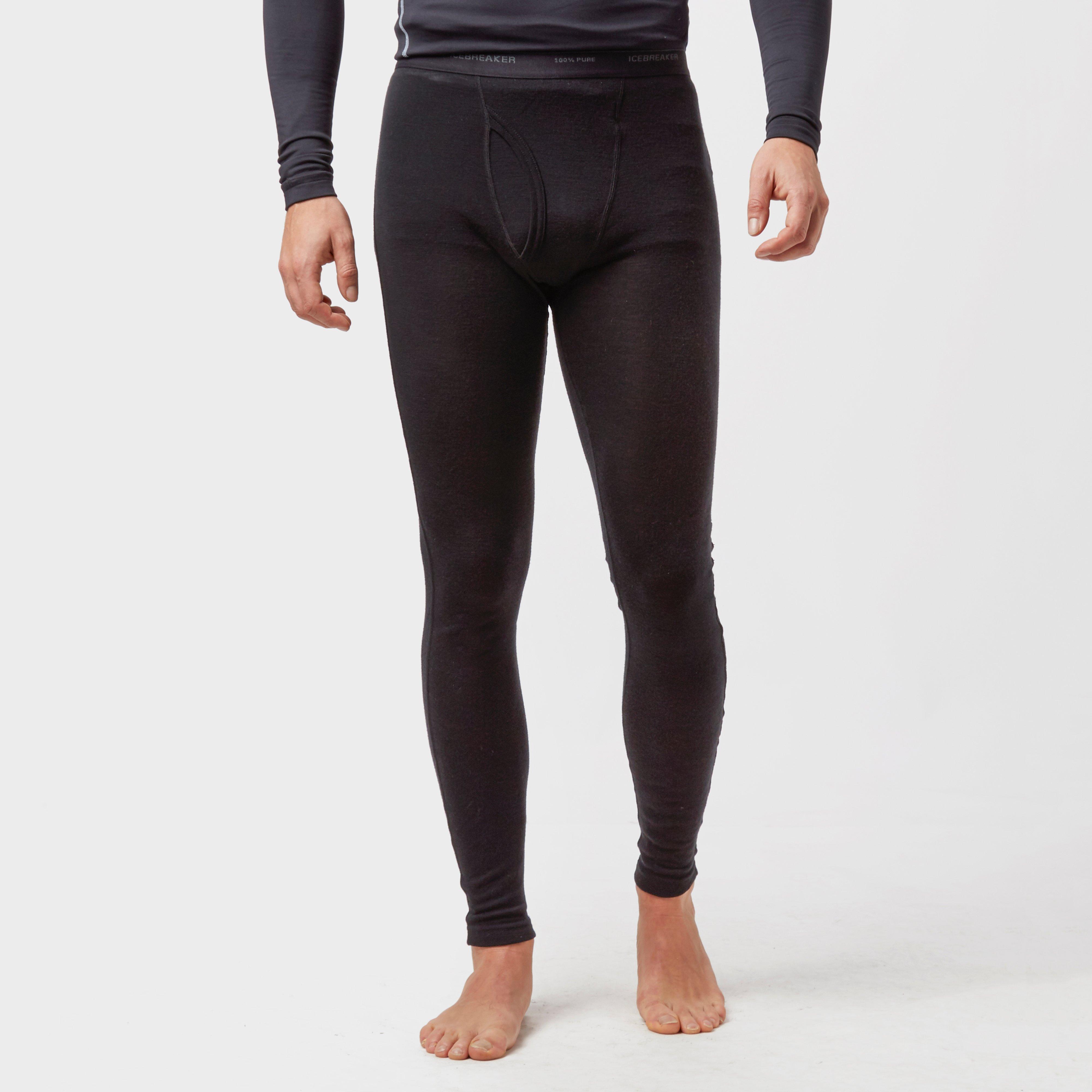 Icebreaker Mens Everyday Leggings Black
