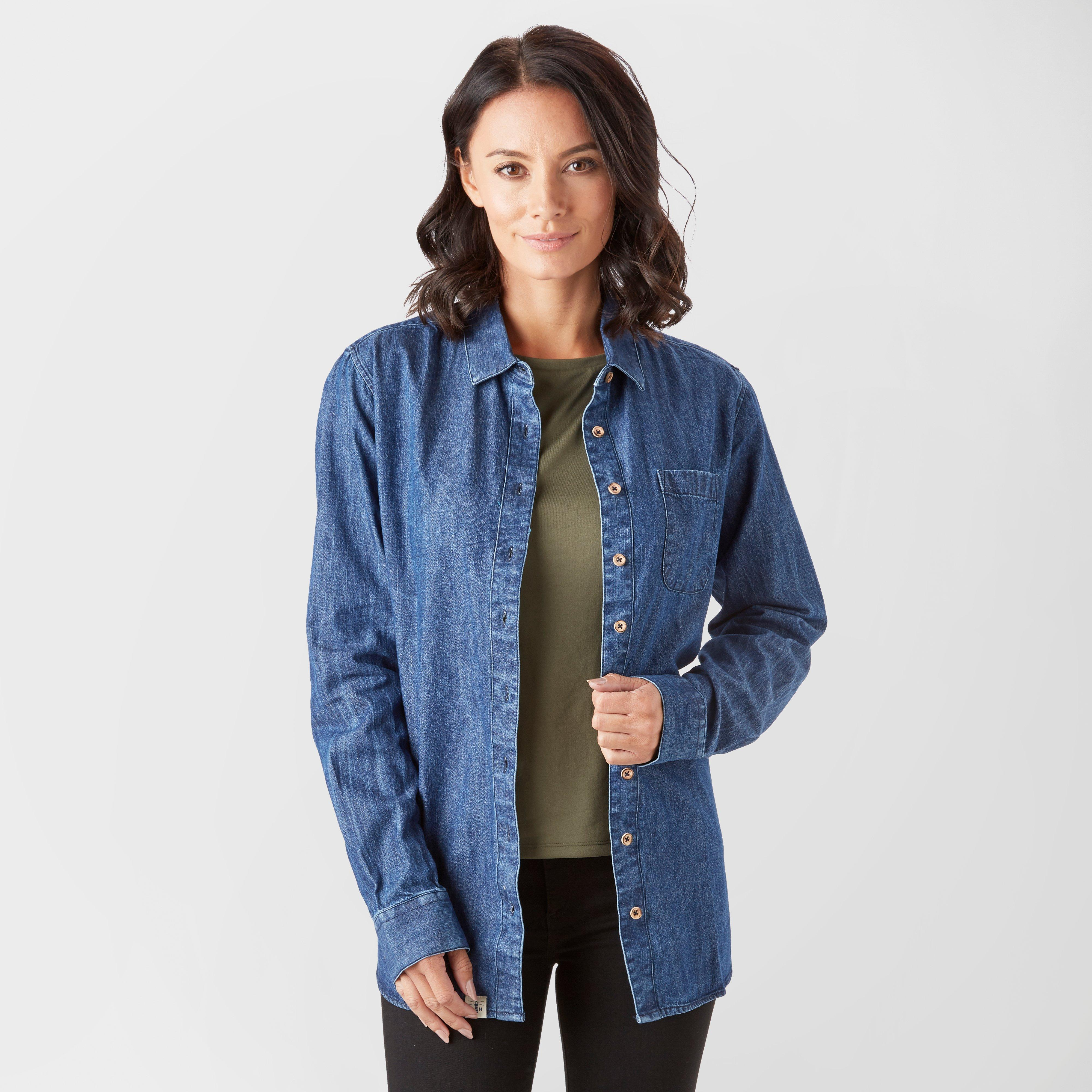 Lighthouse Women's Ocean Denim Shirt, Denim