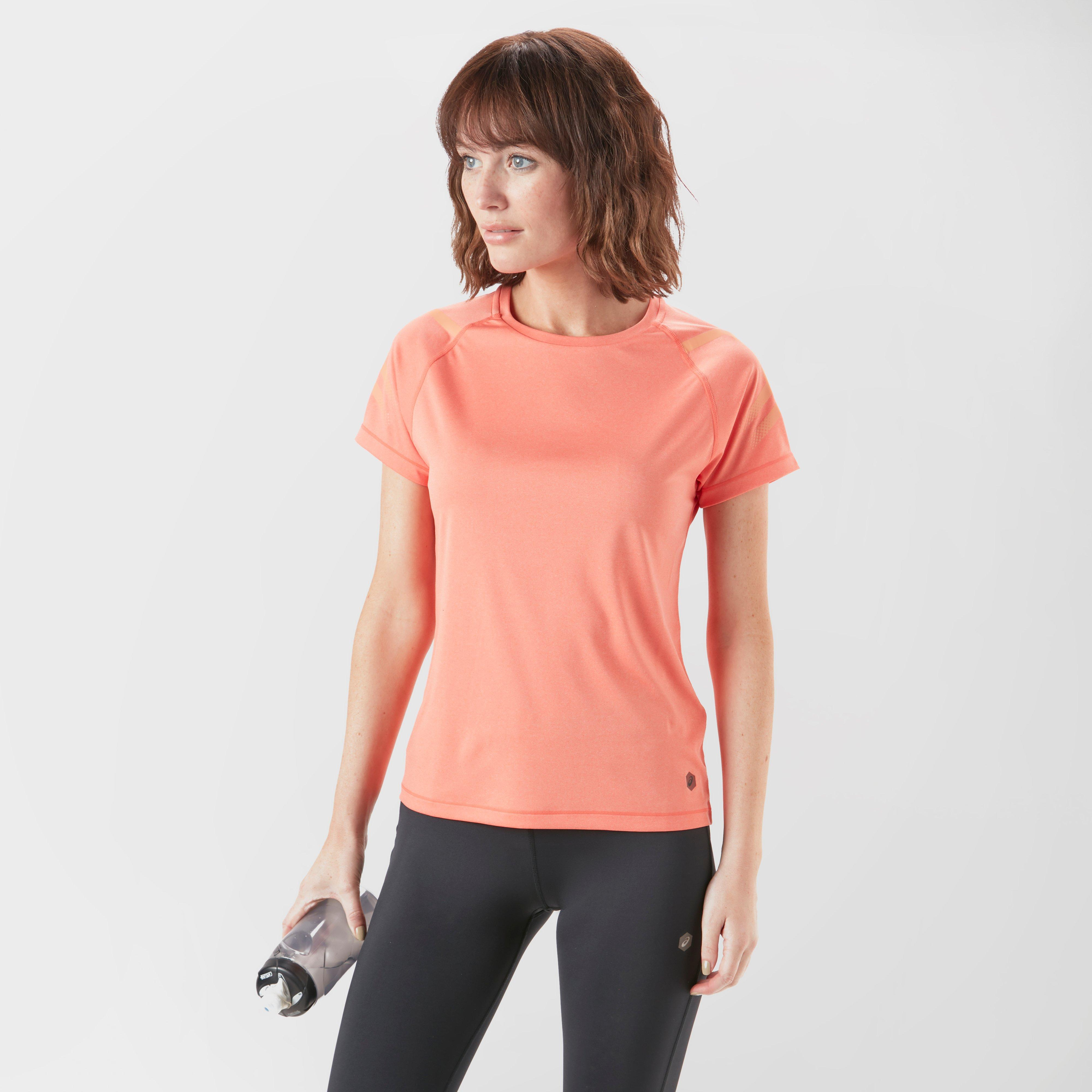 Asics Women's Icon T-Shirt, Coral