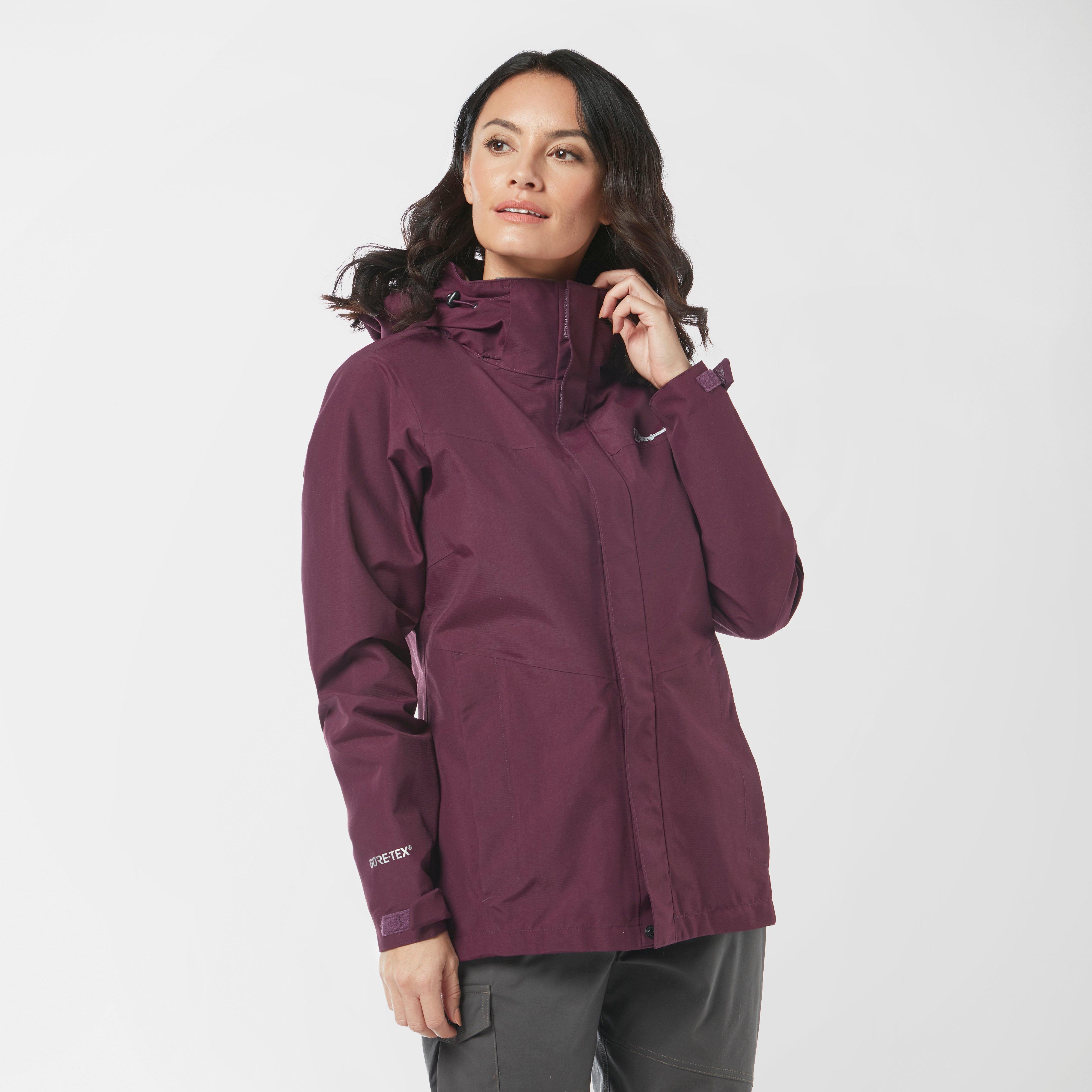 Berghaus Womens Maitland Gore-tex  Jacket - Purple/purple  Purple/purple