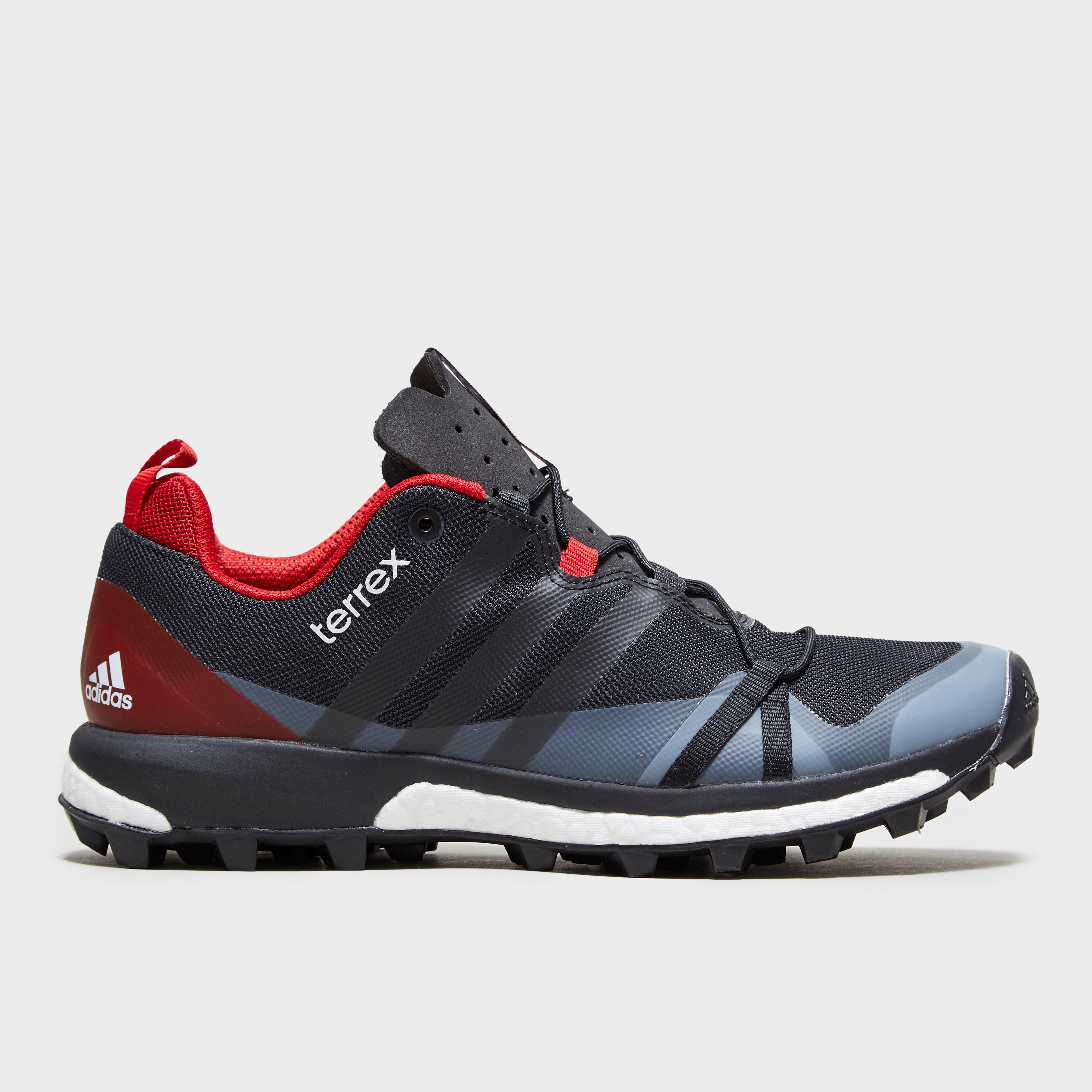 Adidas Mens Terrex Agravic Boost Shoe RedBlack