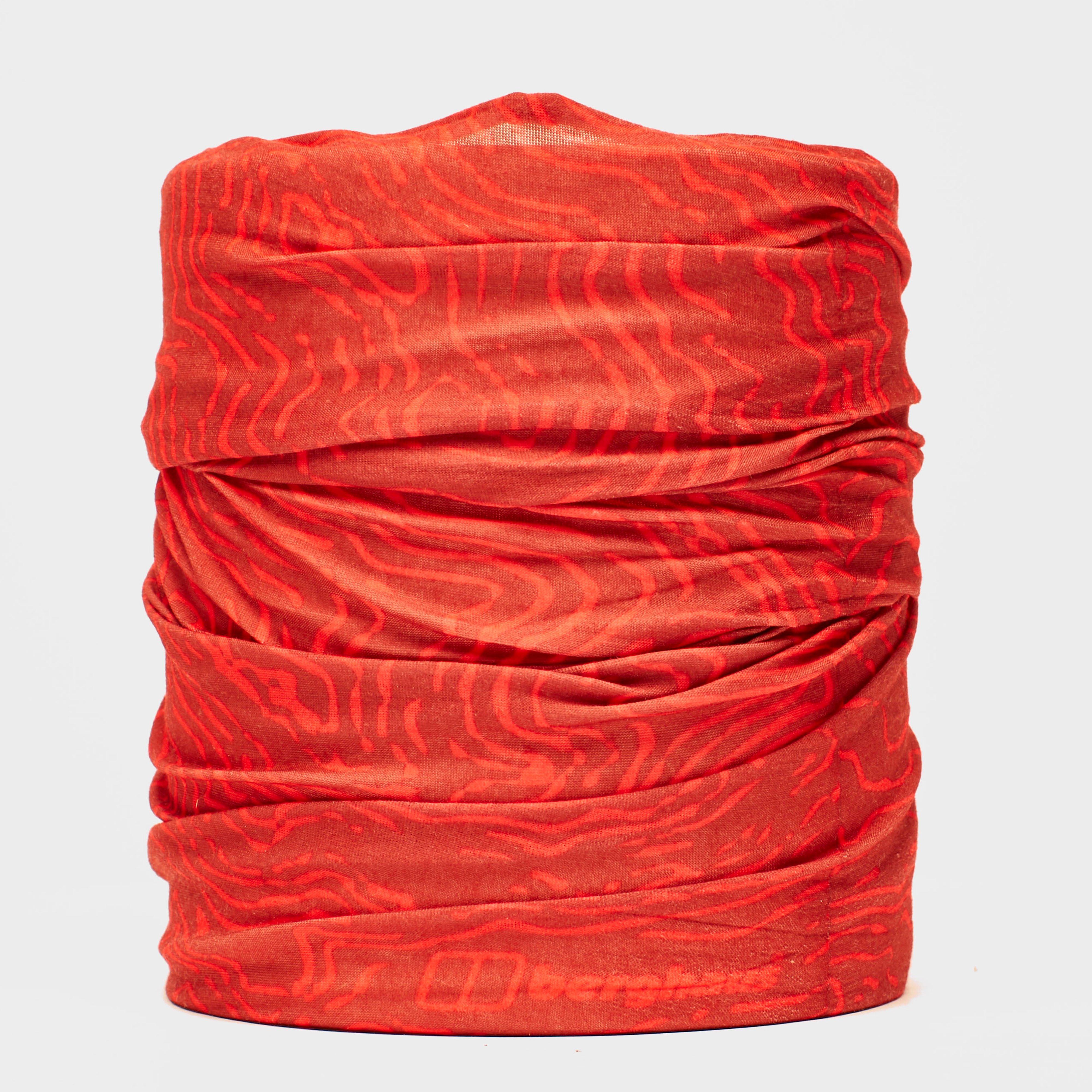 Berghaus Unisex Contour Neck Gaiter - Red/rd  Red/rd