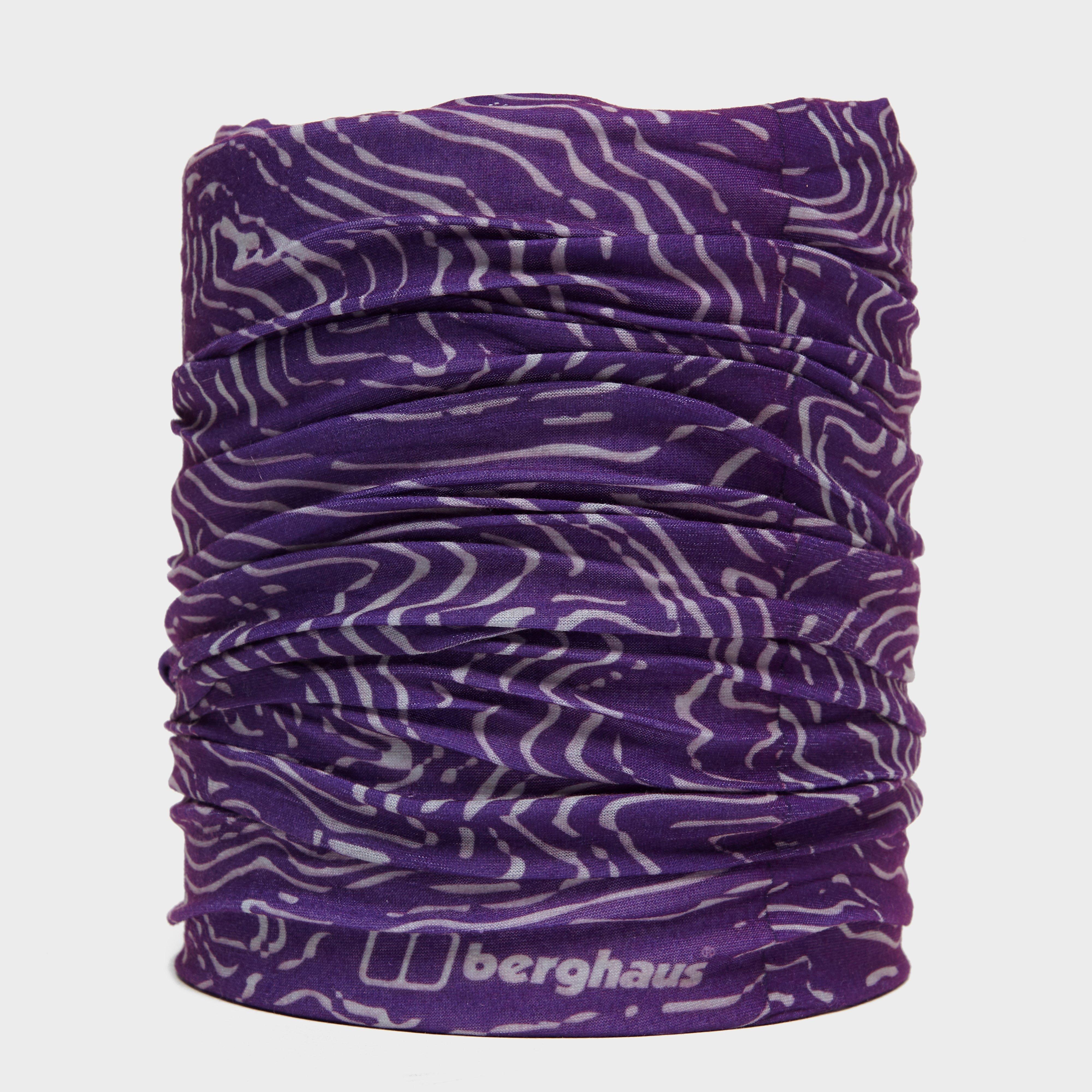 Berghaus Unisex Contour Neck Gaiter - Purple/pup  Purple/pup
