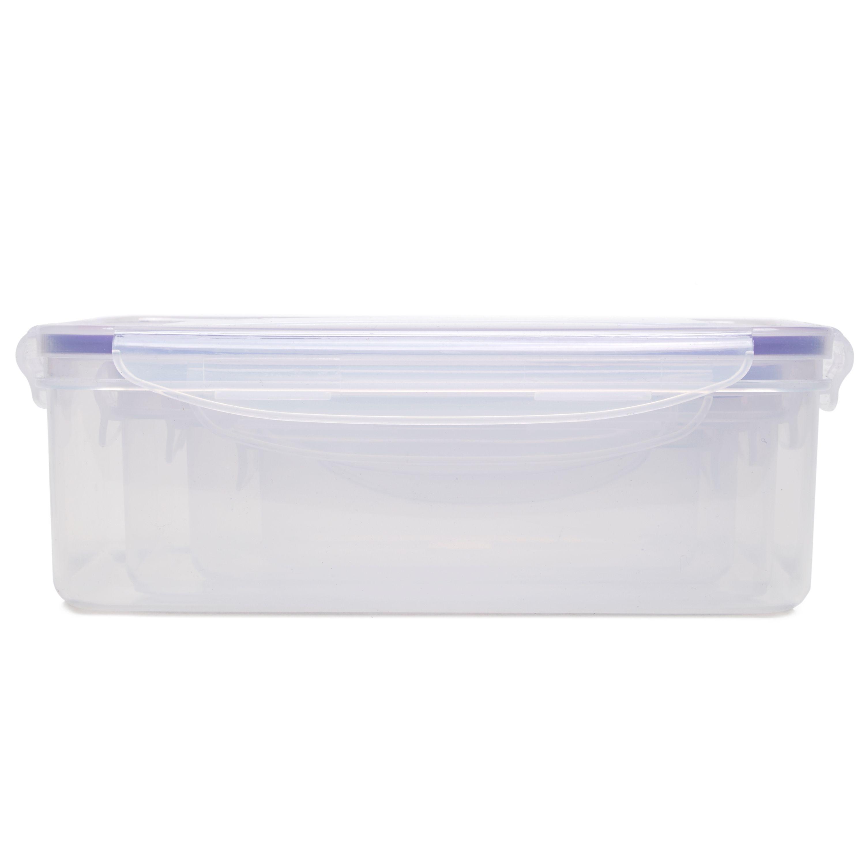 WHAM 4 Pack Seal & Fresh Rectangular Food Box